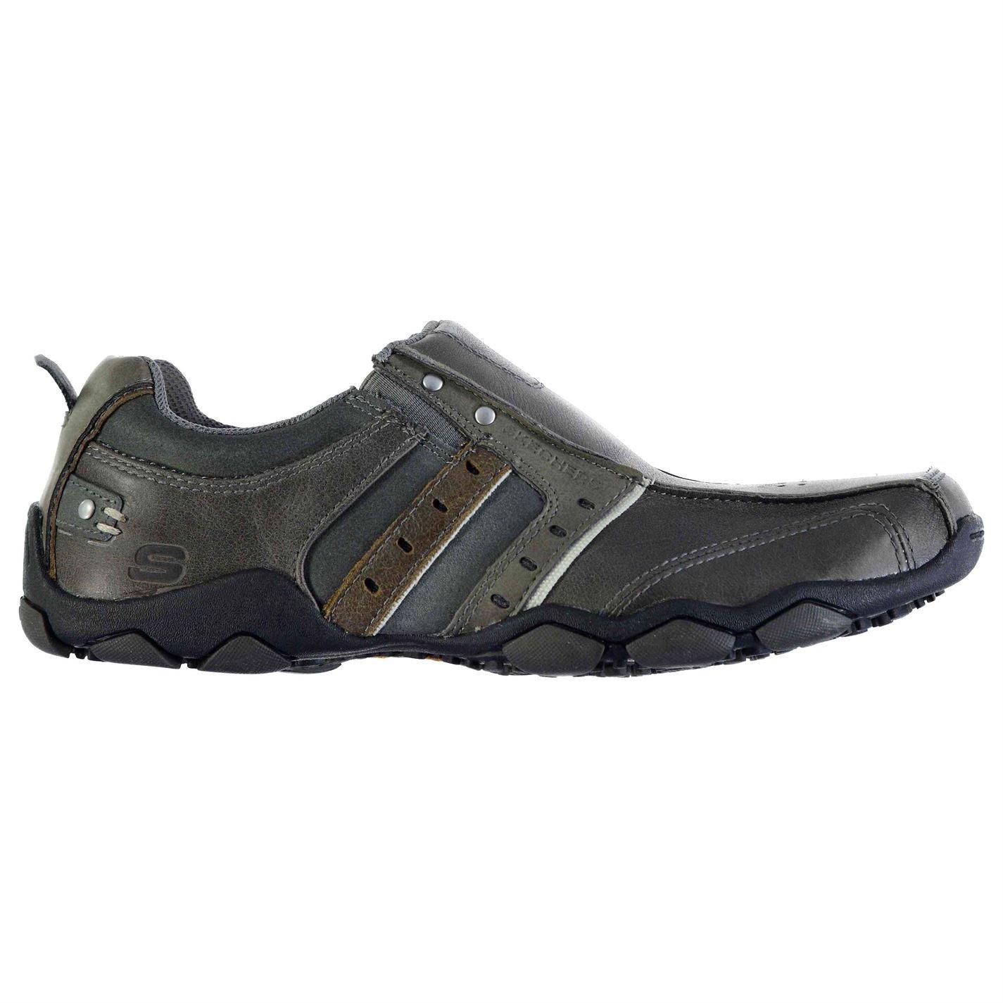 Skechers Contrast  Uomo Diam Heism Contrast Skechers Panelling Slip On Flats Casual Schuhes eadf18