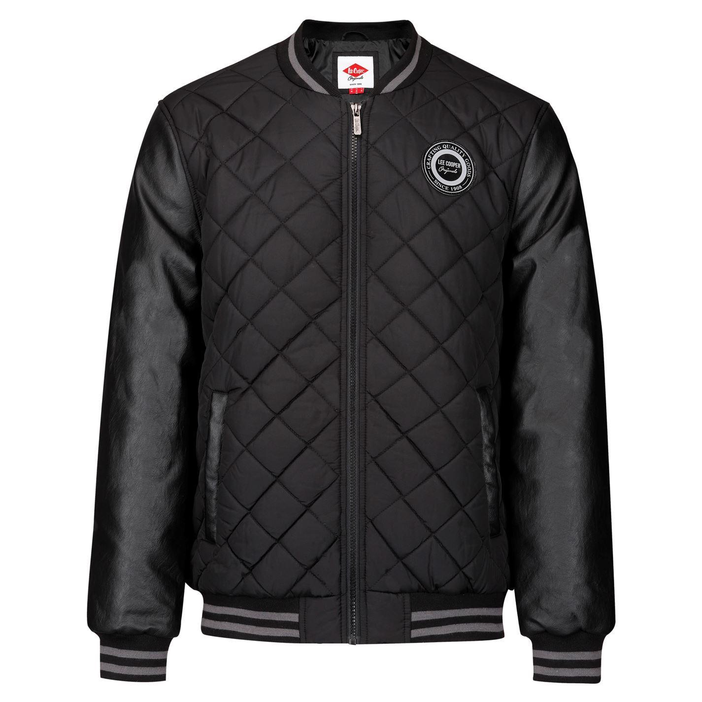 aa33157b8c62 Lee Cooper Mens Quilted Bomber Jacket Coat Top   eBay