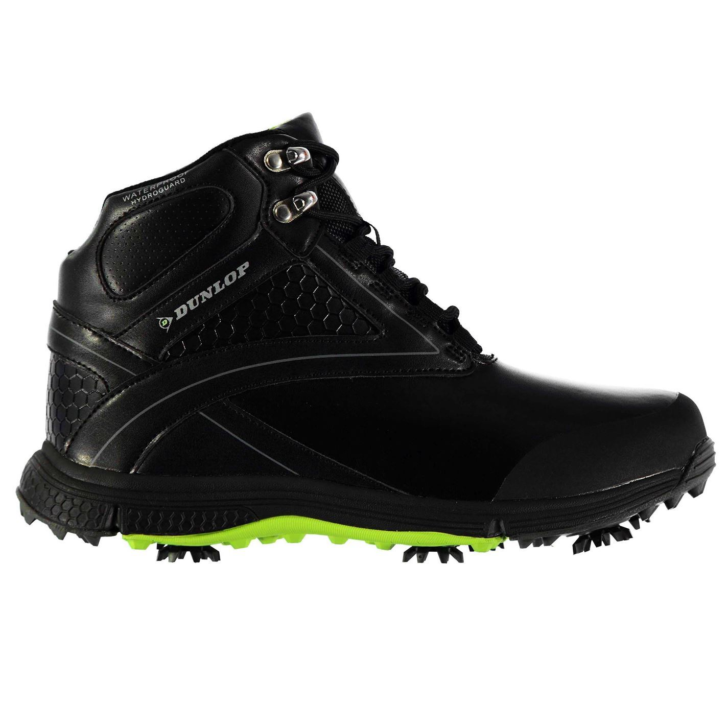 dunlop mens biomimetic 300 golf boots lace up waterproof