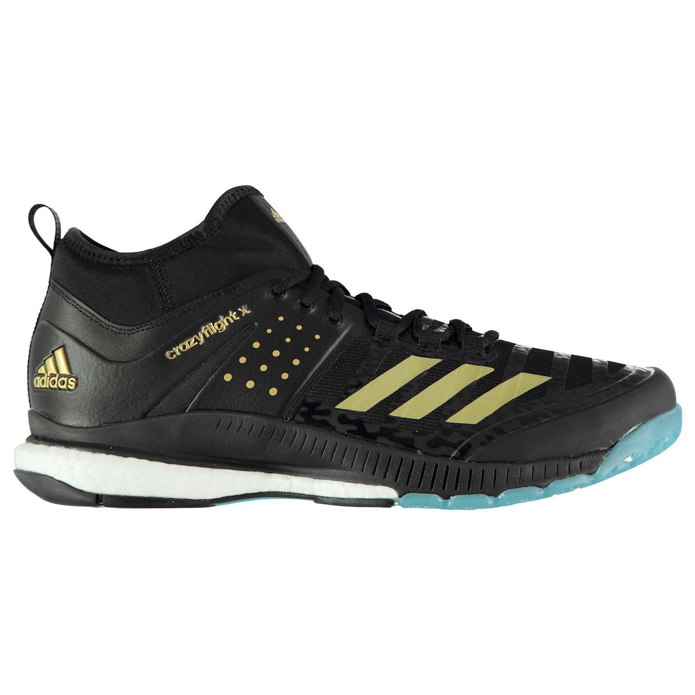 29f0ac7a0 The Mens adidas Crazyflight X Volleyball Shoes are perfect for the next  time you hit the court, featuring energy returning boost cushioning to the  midsole ...