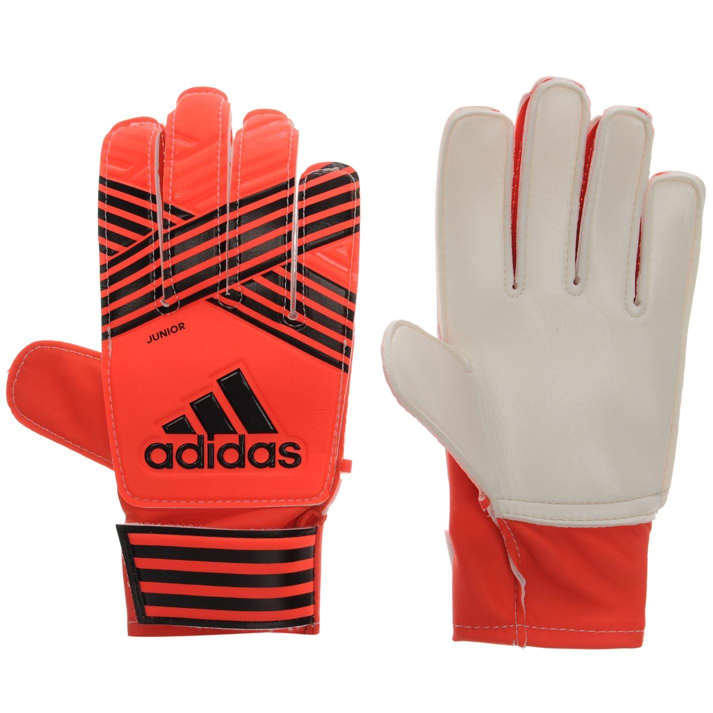 Adidas Kids Ace Junior Goalkeeper Gloves Sports Football Accessories