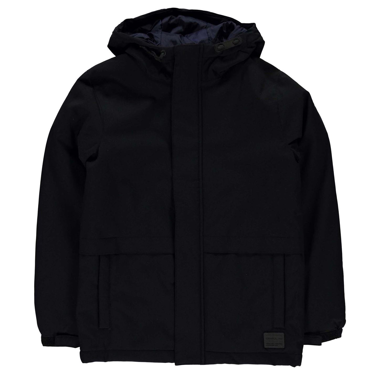 ONeill Kids Boys LB Jacket Padded Coat Top Long Sleeve Hooded Zip Full Button