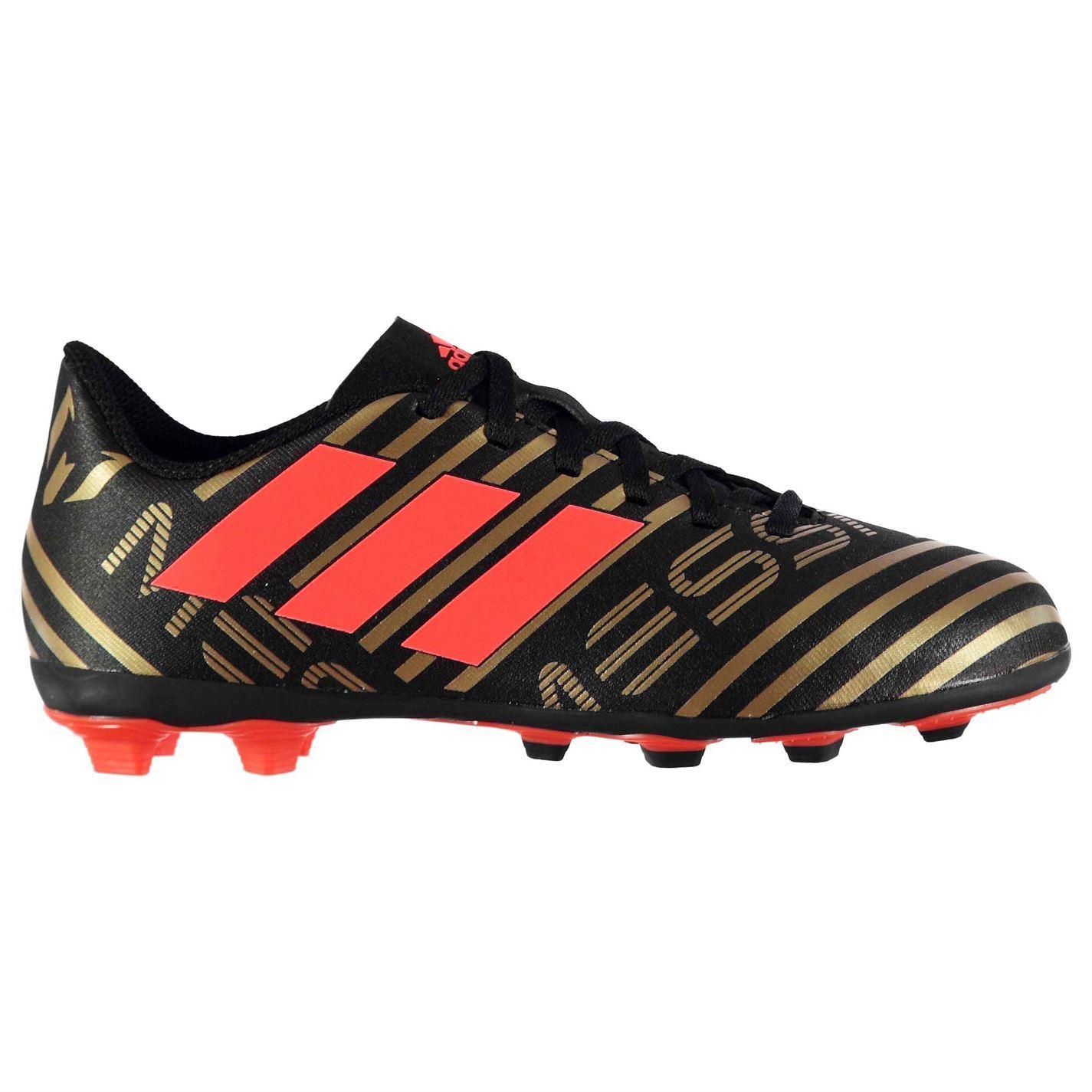 eb6f479be2 adidas Kids Nemeziz Messi 17.4 Childs FG Football Boots Firm Ground Lace Up