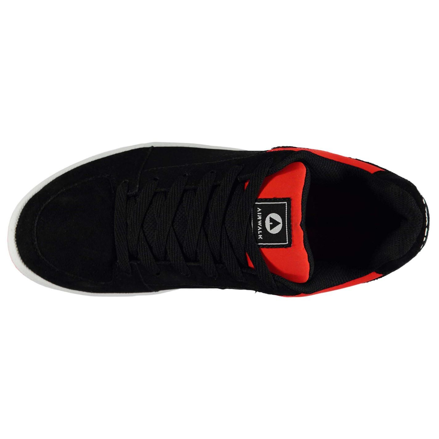Airwalk-Mens-Brock-Skate-Shoes-Lace-Up-Suede-Accents-Sport-Casual-Trainers