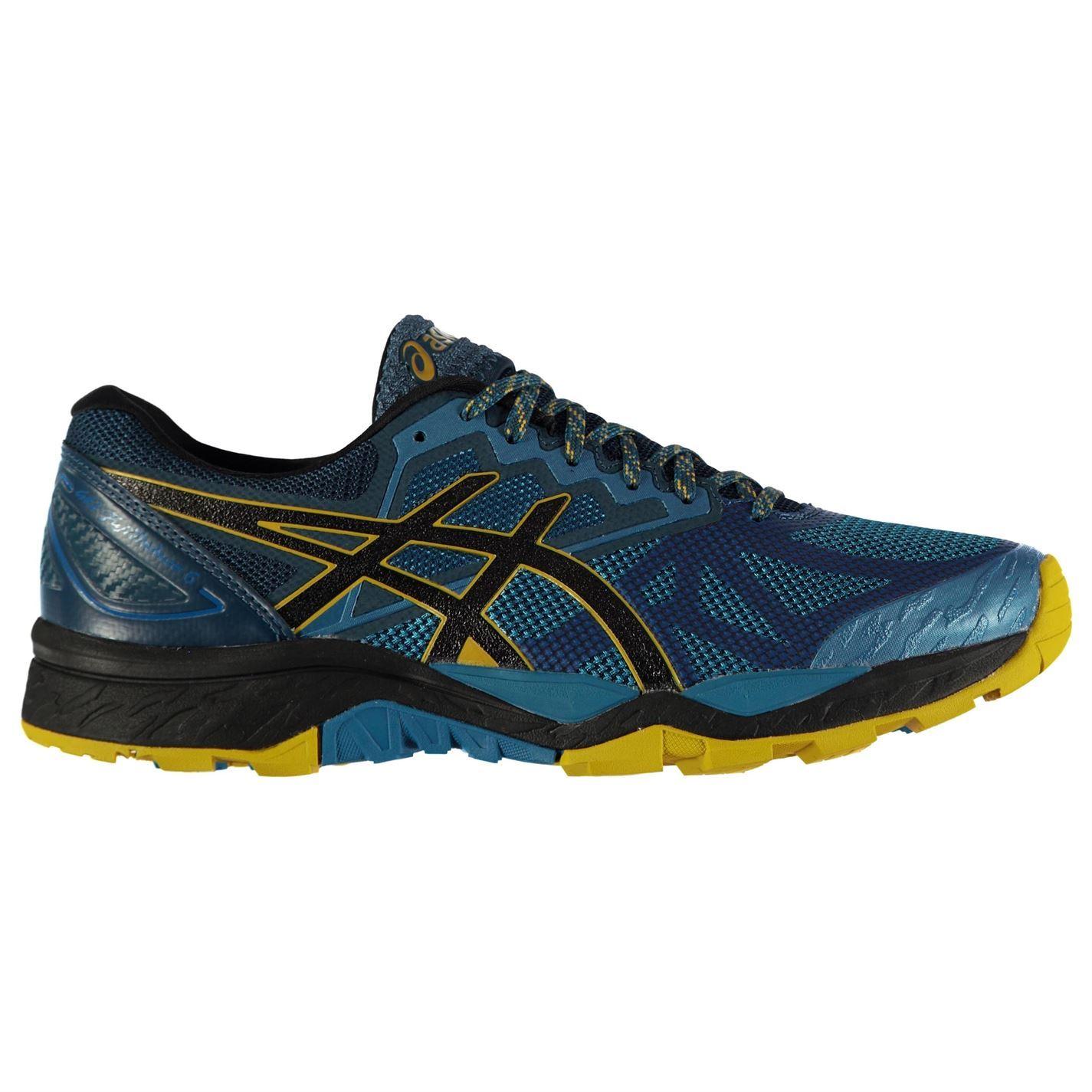 Asics Gel Fujitrabuco 6 Trail Running Schuhes  Herren Herren  Gents Laces Fastened Padded 79d894