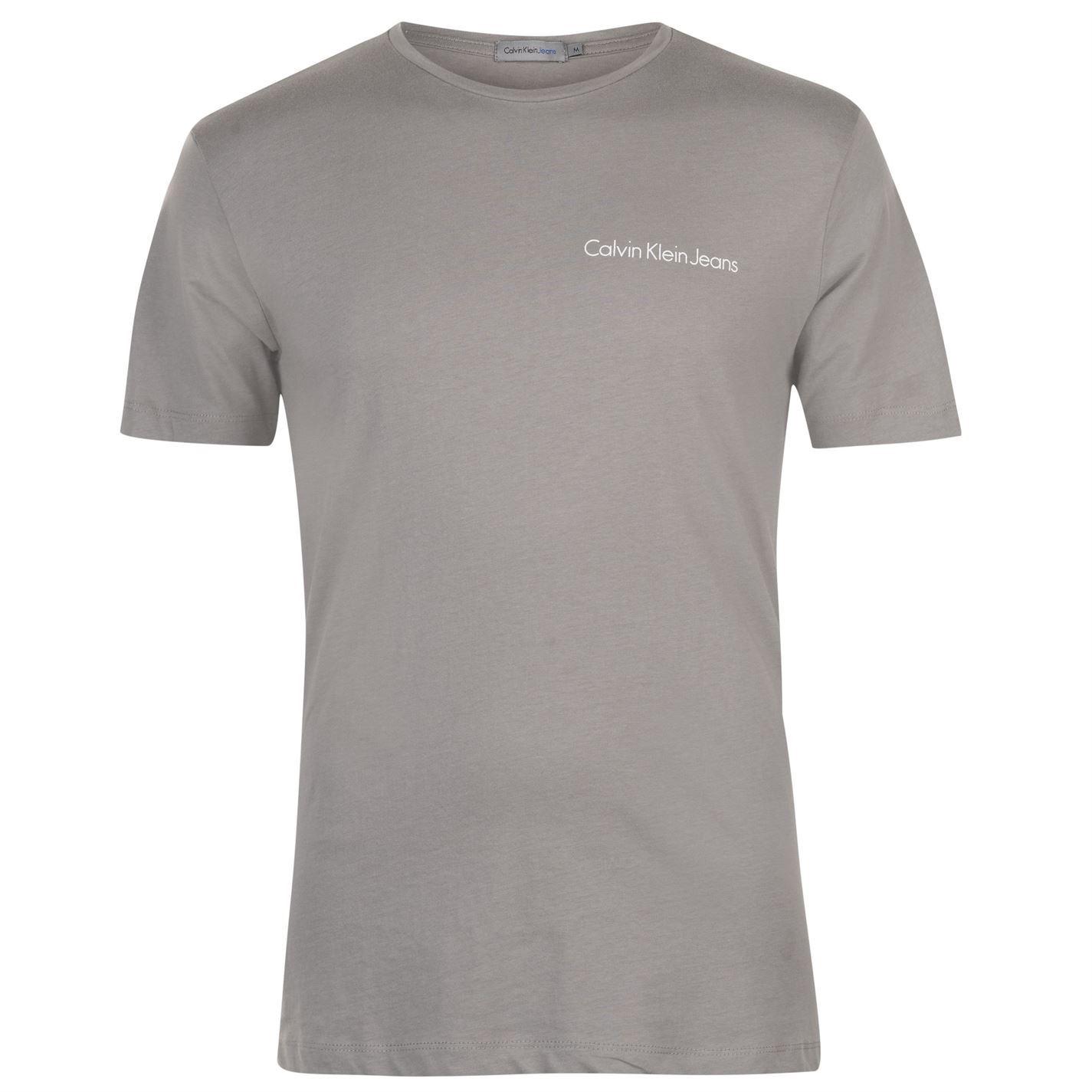da1e810f9fc Mens Calvin Klein Typoko T Shirt Crew Neck Short Sleeve New