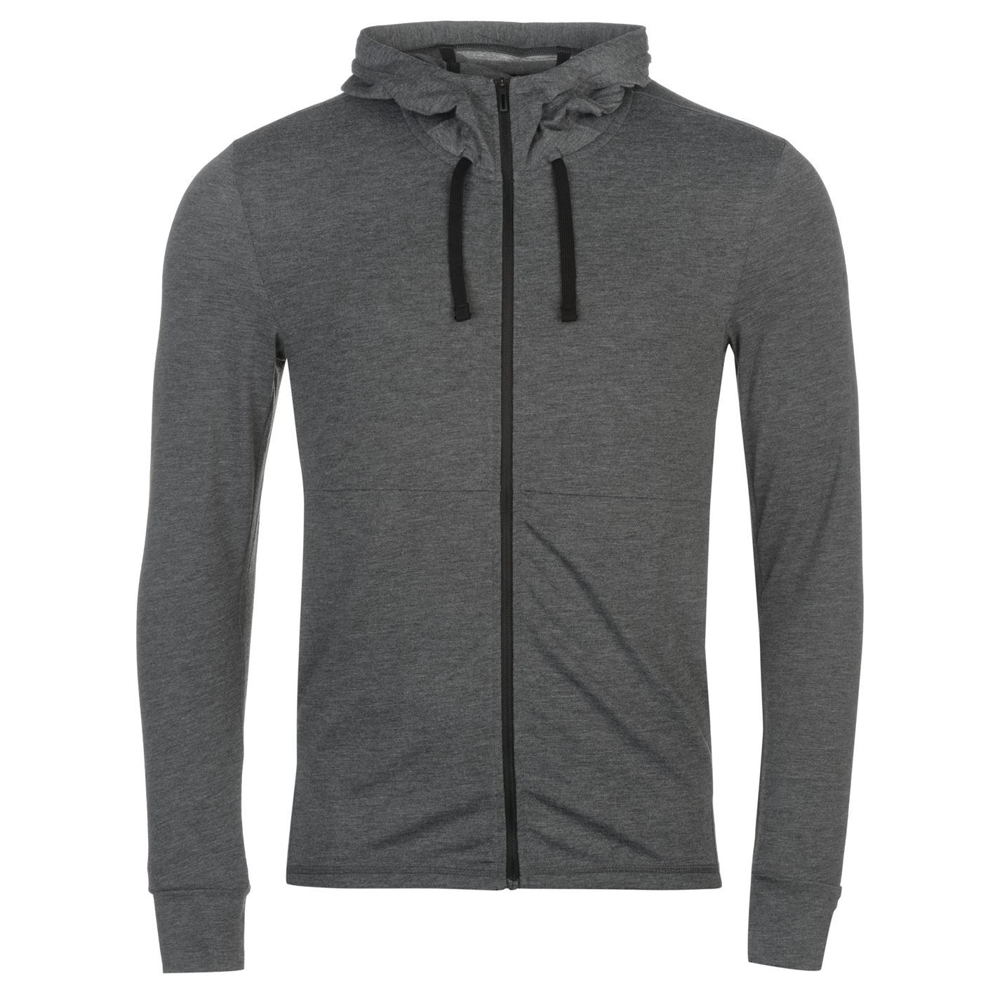reputable site 8b844 979a6 adidas Workout FZ Hoody Lite Mens Gents Zip Hoodie Hooded Top Full Length  Sleeve Grey M. About this product. Picture 1 of 2 Picture 2 of 2