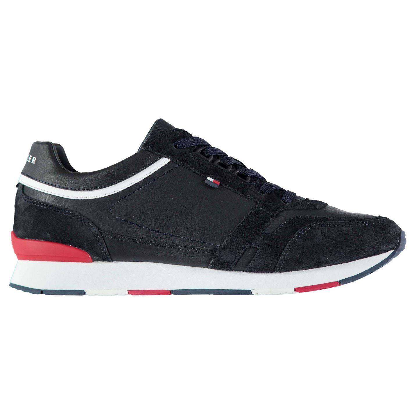 Mens Low Tommy Hilfiger Leeds Trainers Low Mens Lace Up New f0de16