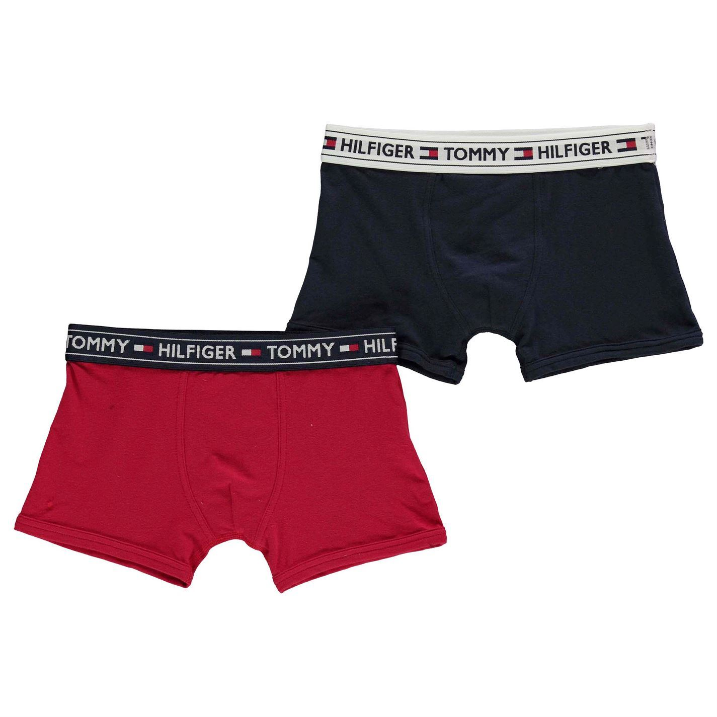 b5e398732e Kids Tommy Hilfiger 2 Pack Trunks Underwear Stretch New | eBay