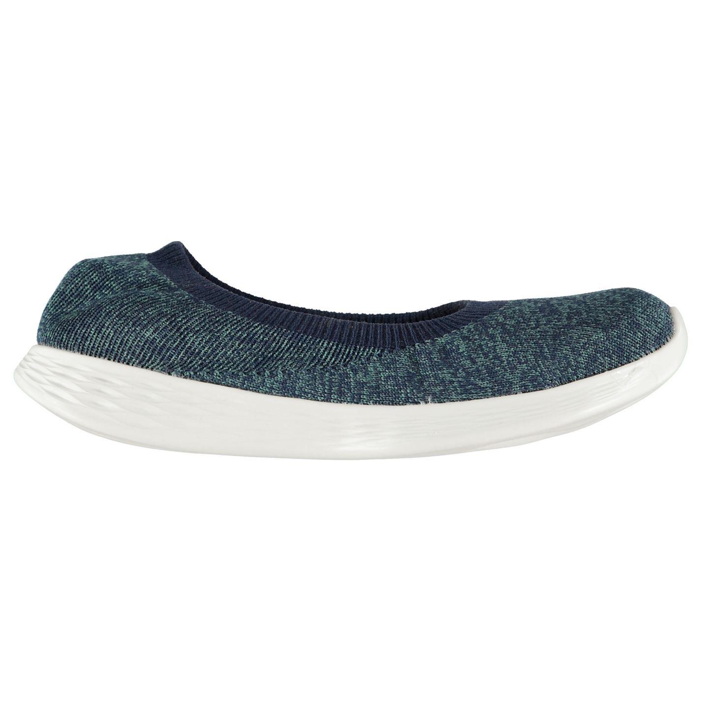 Skechers Damenschuhe YOU Define Slip Flat On Trainers Lightweight Flat Slip Knit Knitted b0e563