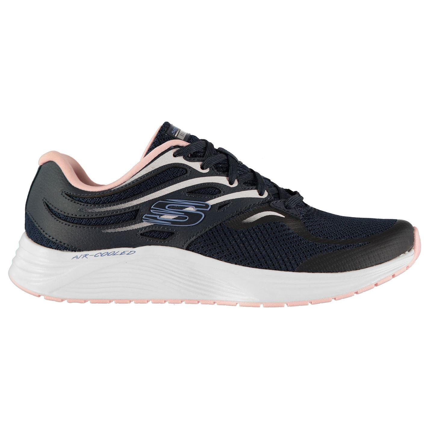 Skechers Up Damenschuhe Skyline Aglo Trainers Runners Lace Up Skechers Breathable Padded Ankle f905cb