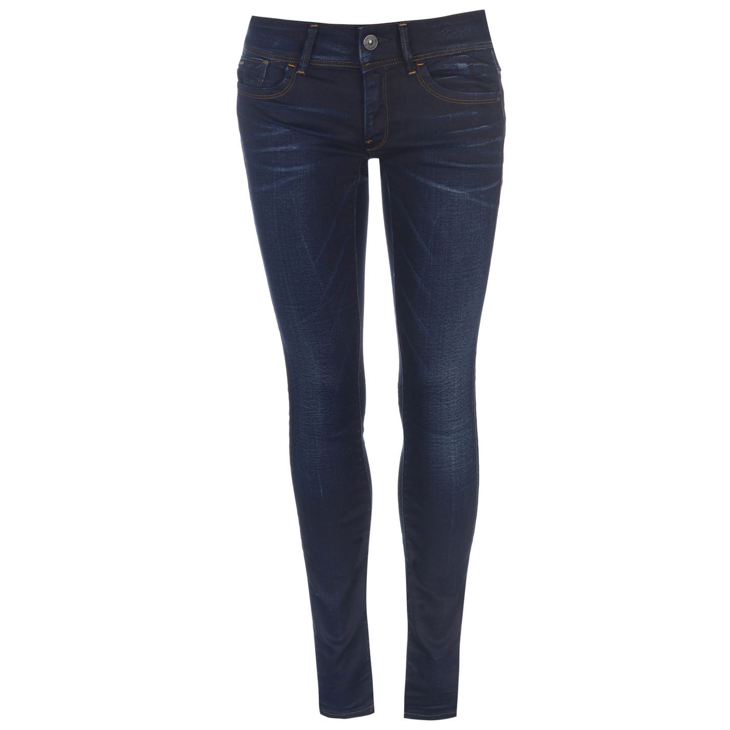 G-Star-Womens-Raw-Lynn-Mid-Waist-Skinny-Jeans-Pants-Trousers-Bottoms-Zip-Fit