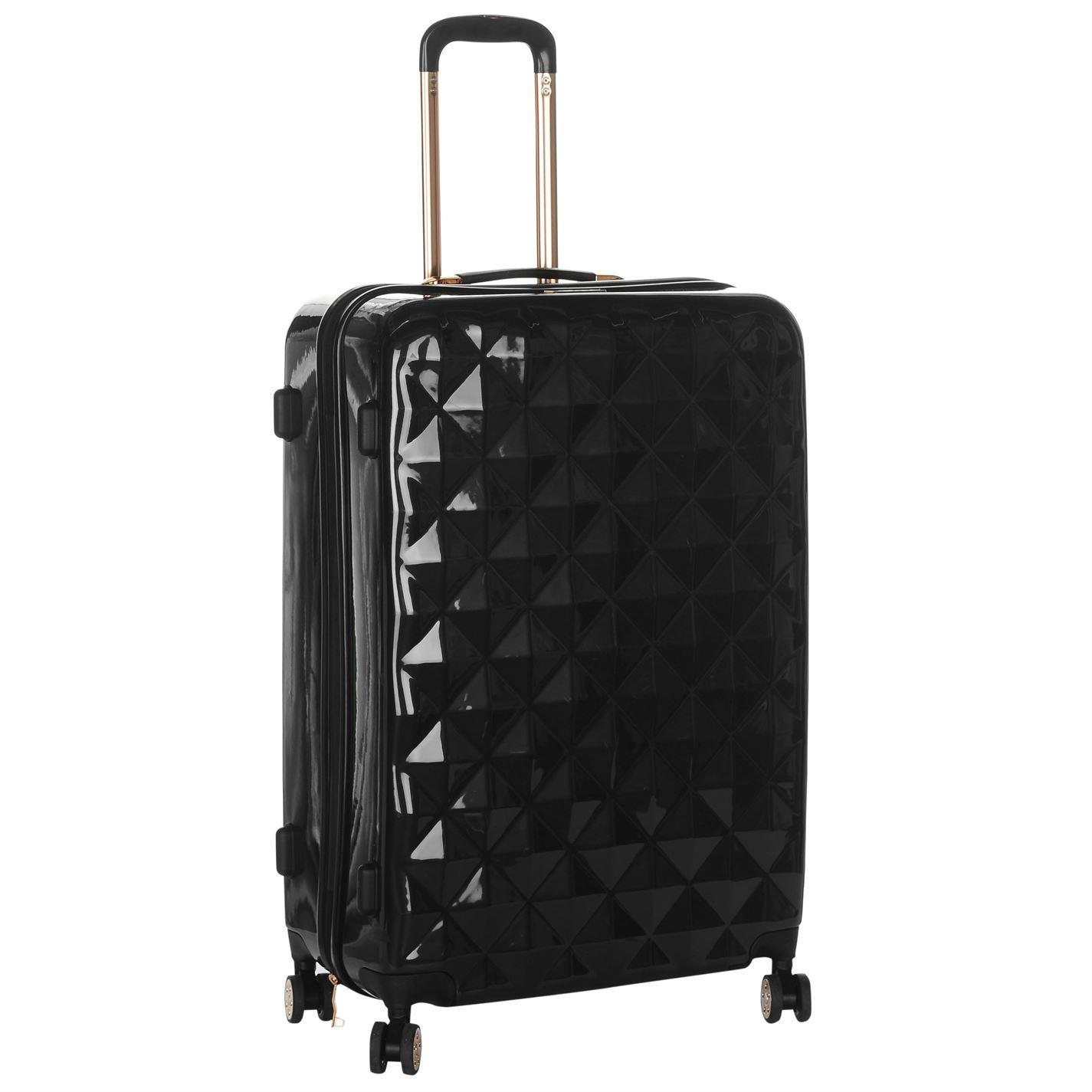 Firetrap Pink Diamond Suitcase