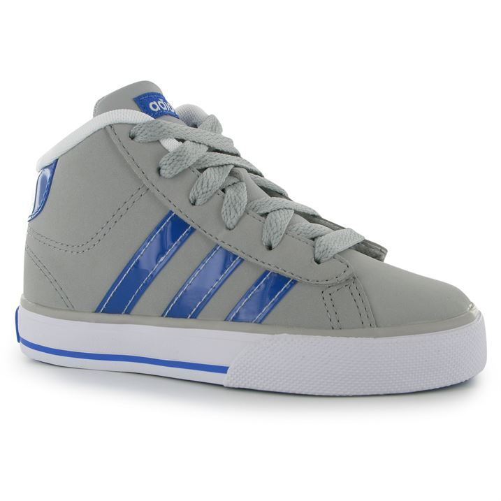 Kids Padded Childrens Mid Adidas Sports Trainers Daily Shaped Shoes uT1lFcJK3