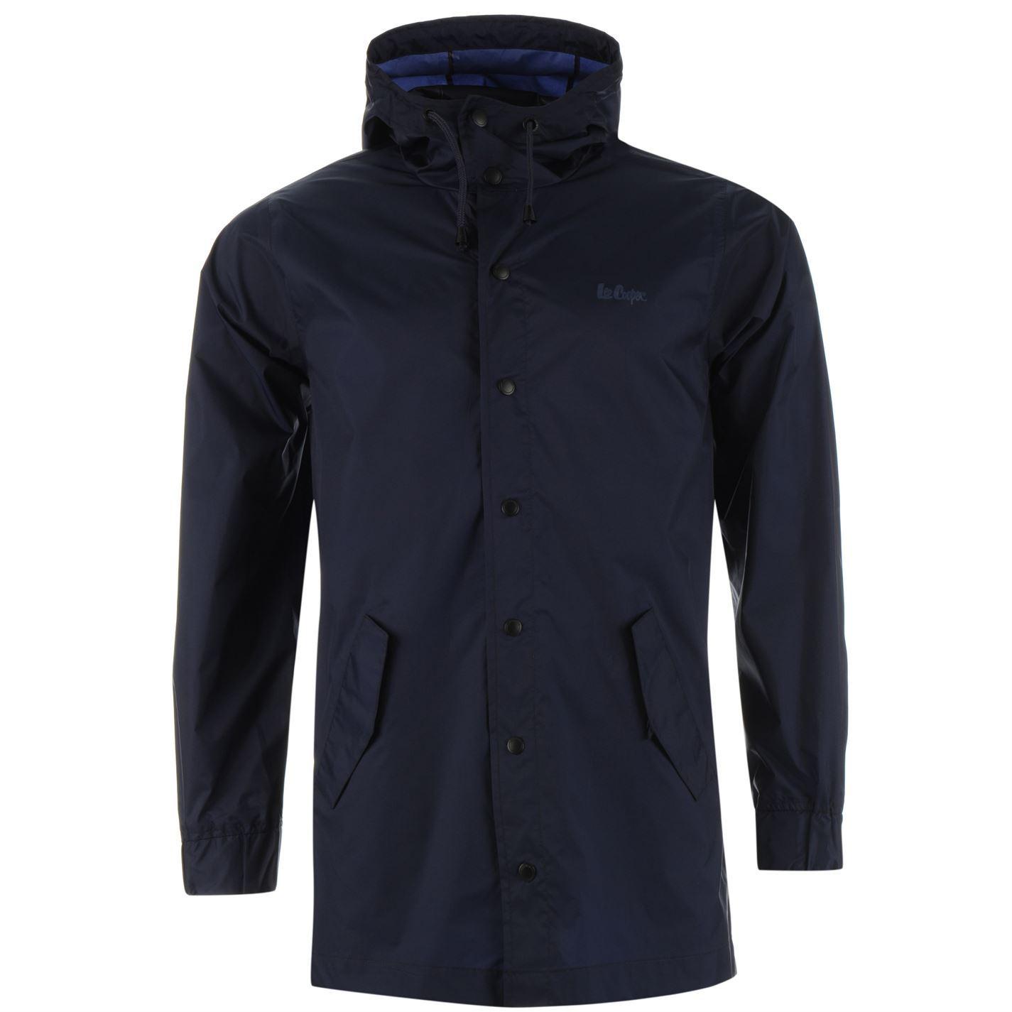 lee cooper mens packable rain jacket coat top long sleeve water #1: c6e18d81 e9d2 4749 9422 9dc51e