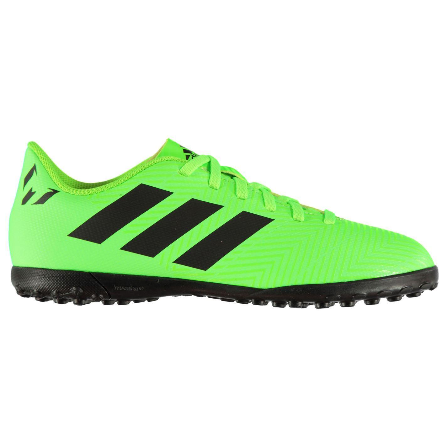 d7aee5e8f adidas Kids Nemeziz Messi 18.4 Junior Astro Turf Trainers Football Boots  Lace Up