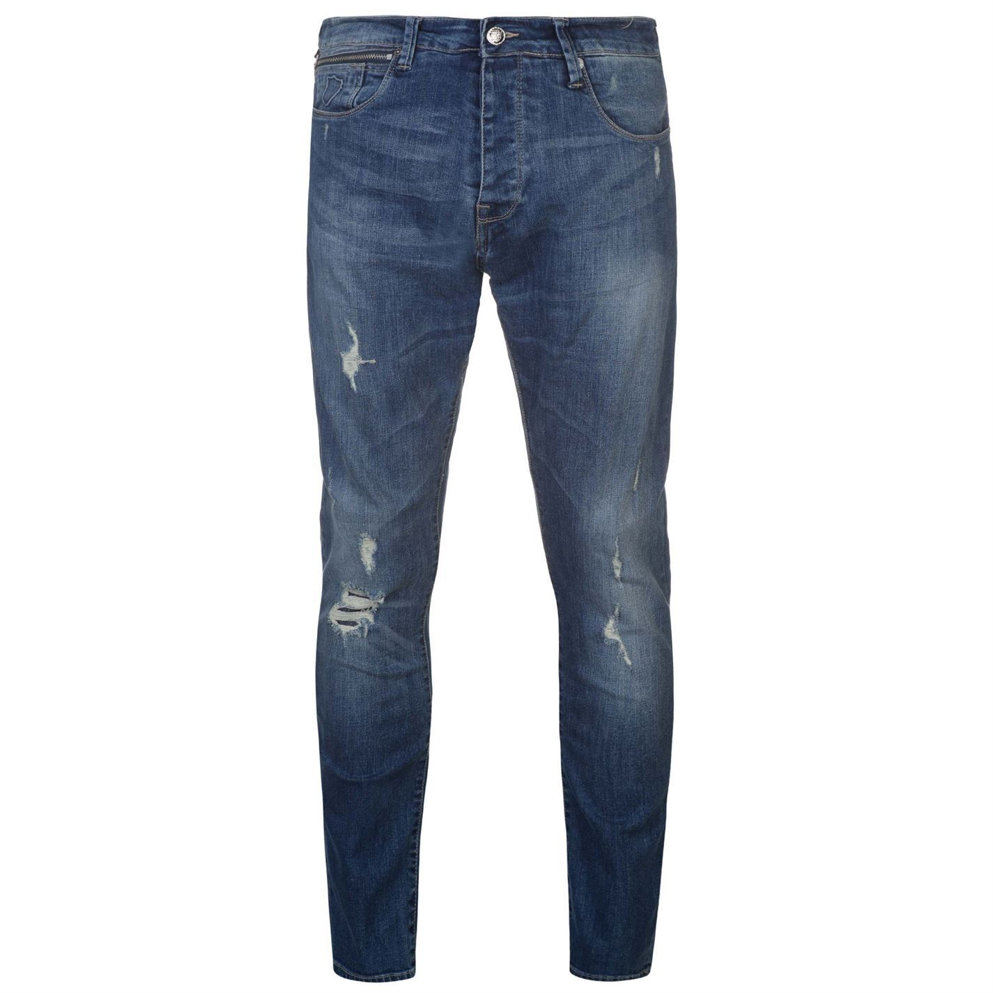 Mens Black Bootcut Jeans