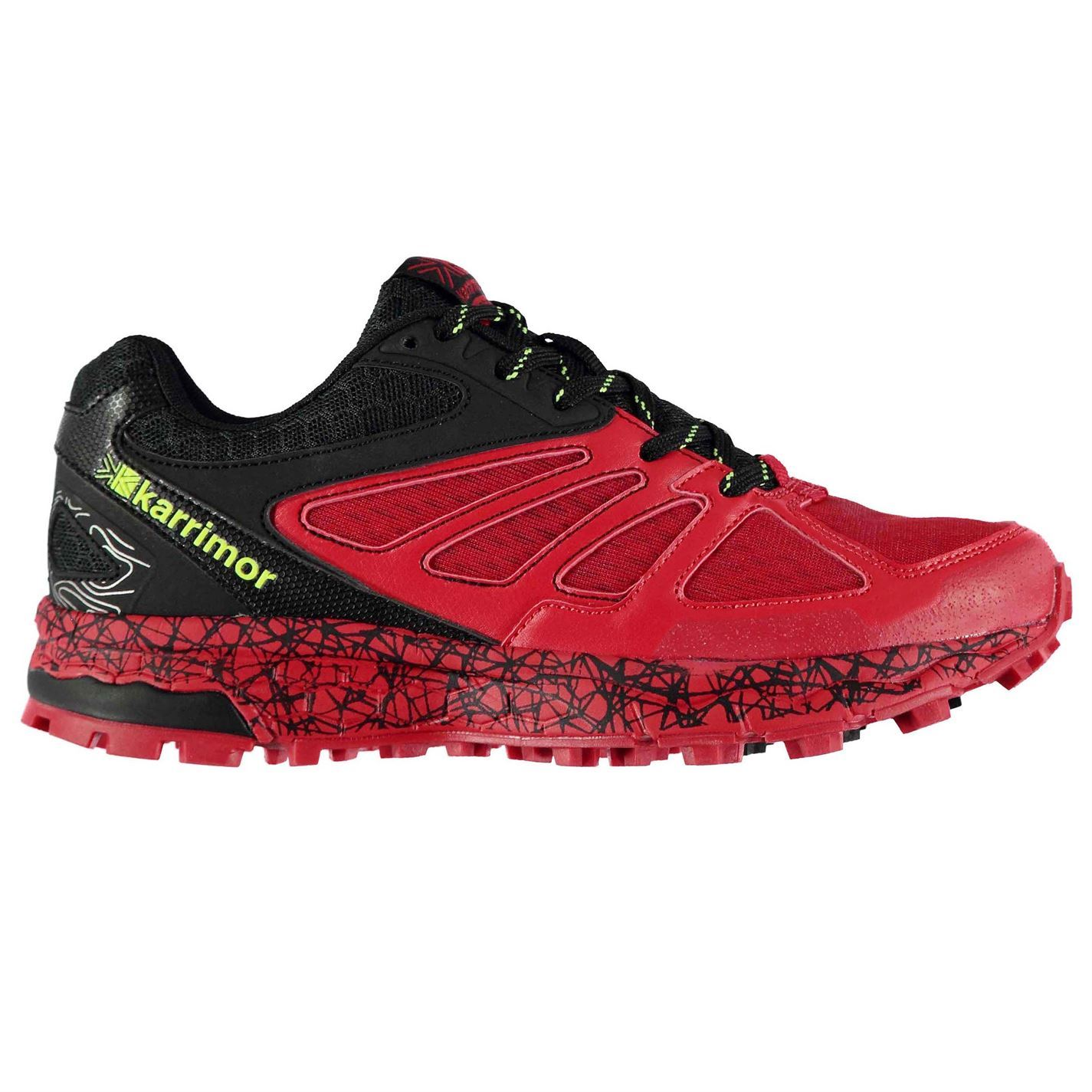 Karrimor-Kids-Boys-Tempo-5-Trail-Running-Shoes-Runners-Lace-Up-Breathable-Mesh