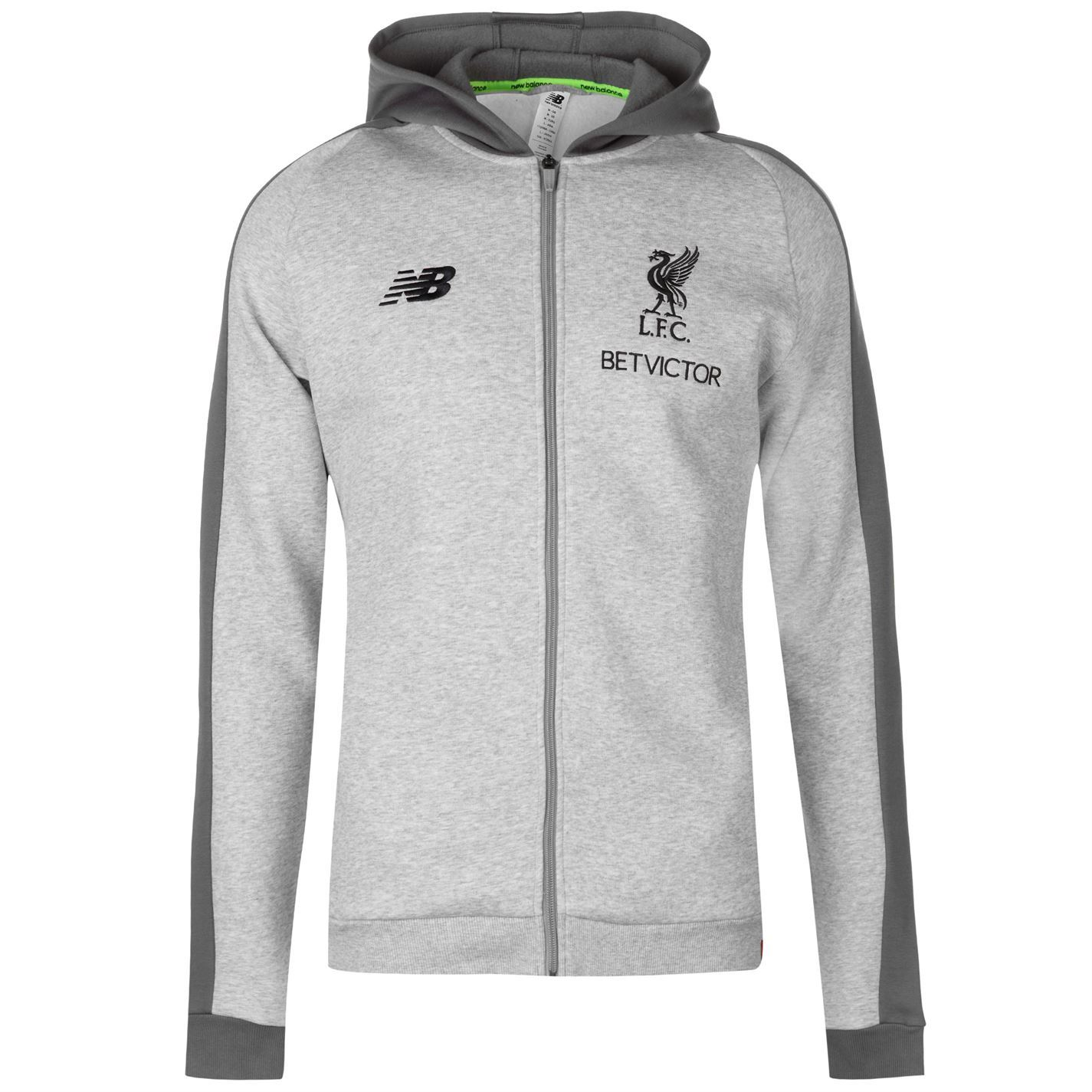 2f5525c3c0ba4 Details about New Balance Mens Liverpool Leisure Hoody 2018 2019  Performance Hoodie Hooded Top