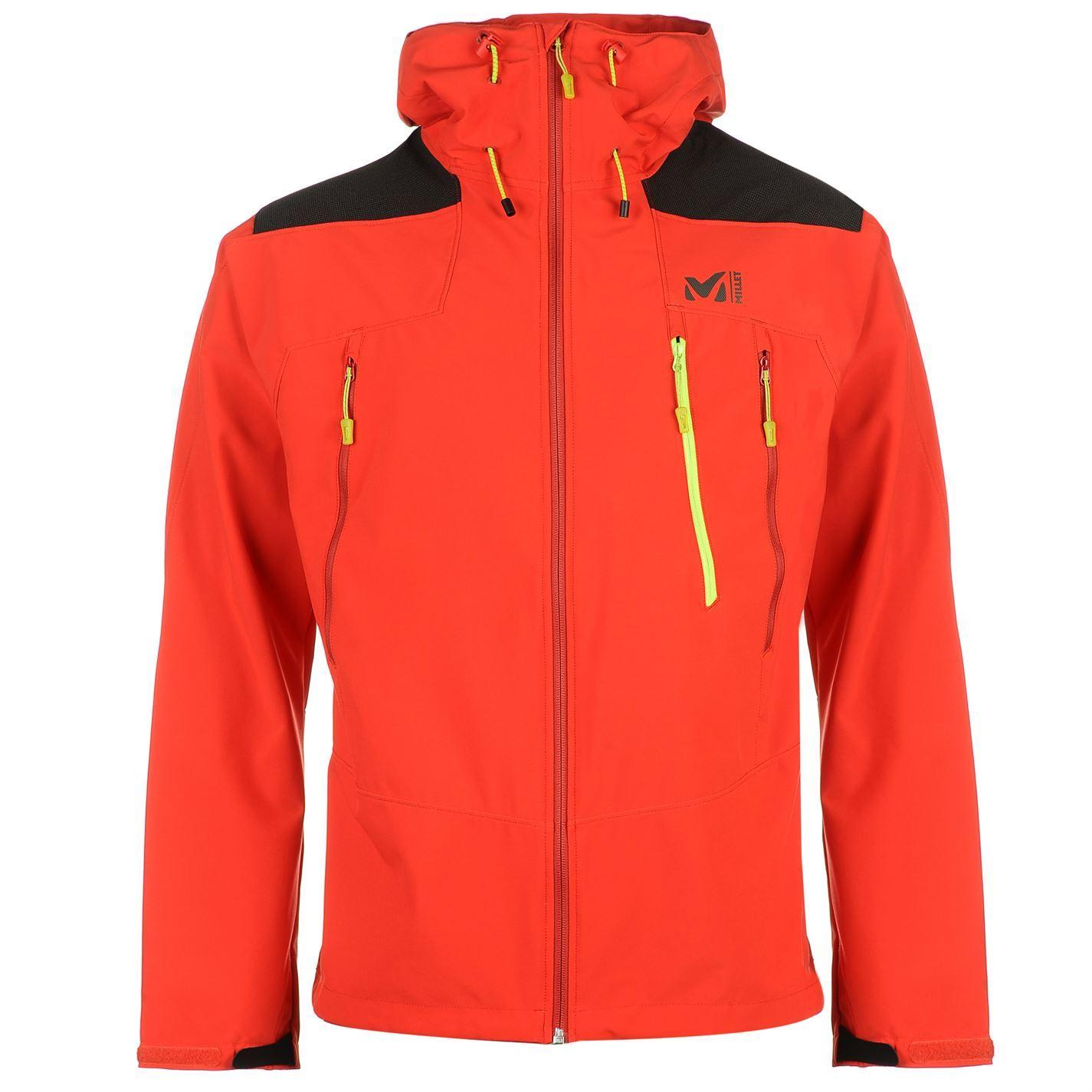 434e873ad94 Millet Mens K Shield Softshell Jacket Top Coat Windproof Water ...
