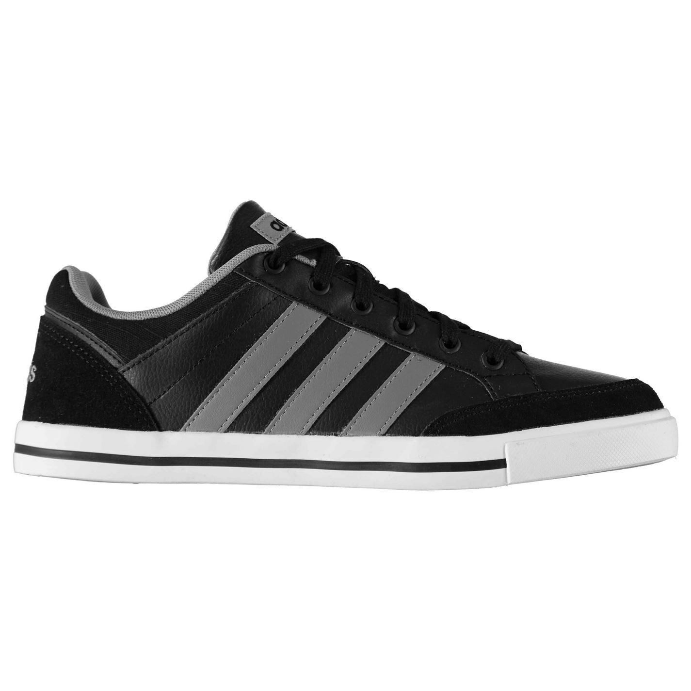Adidas para hombre CACITY Cuero Tenis Zapatos Con Cordones Tobillo Collar De Gamuza Tobillo Cordones Acolchado 424f25