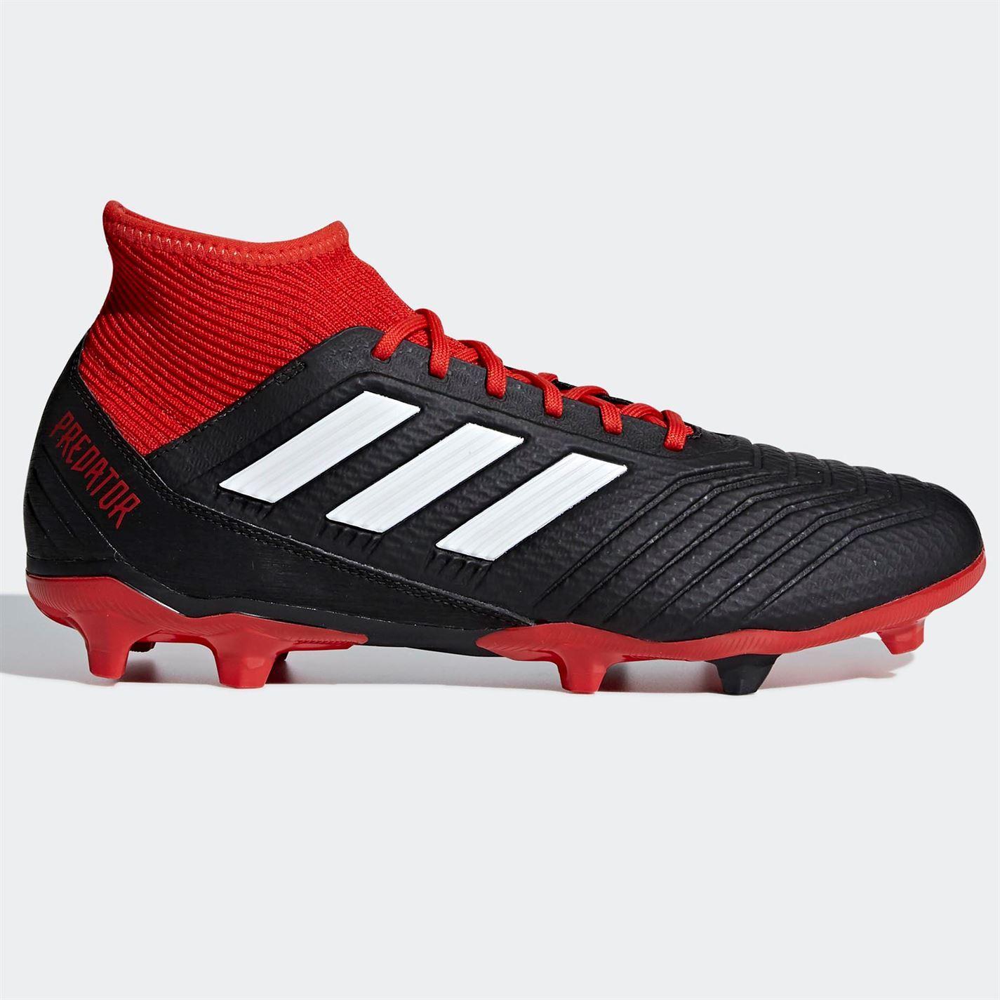 best sneakers 3e3a2 1d474 closeout adidas uomo prossoator calcio 18.3 fg scarpe da calcio prossoator  terra ferma lacci borchie maglia