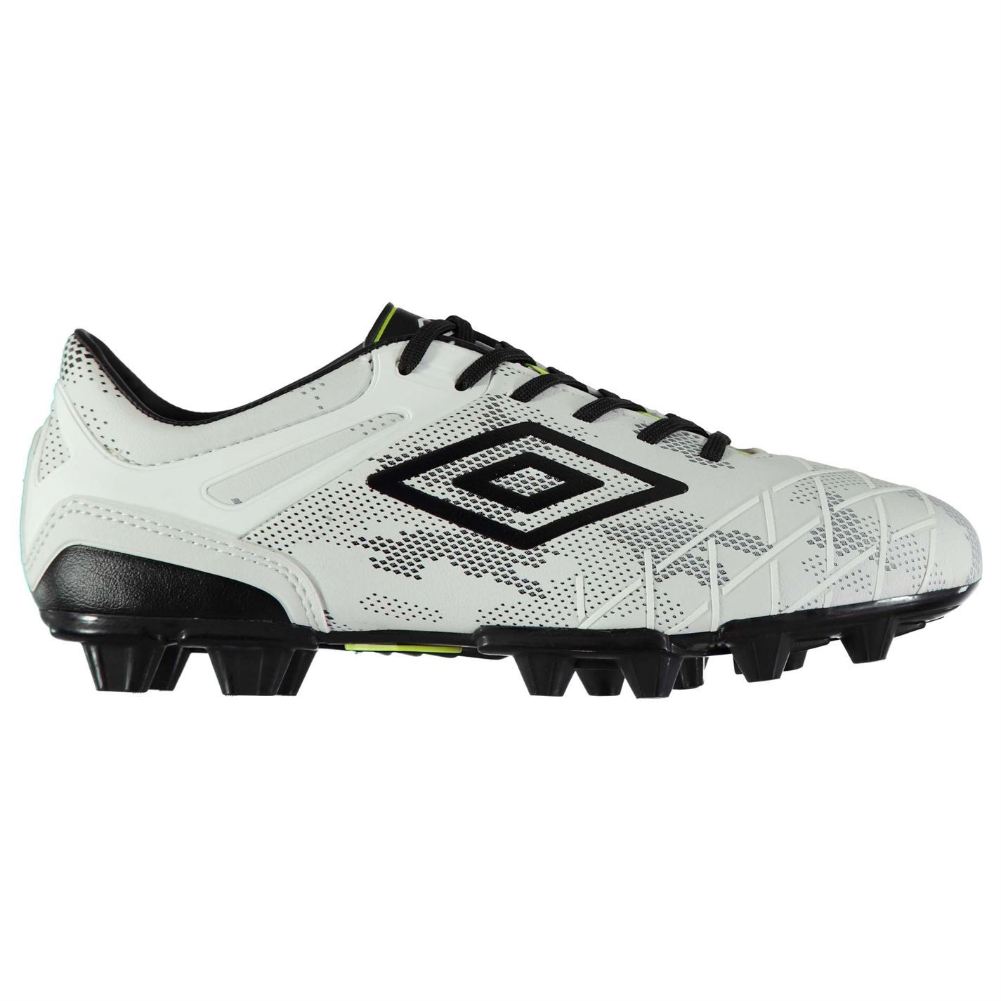 Umbro Mens UX 2.0 Premier HG Football Boots Firm Ground Lace Up Padded Ankle 8fcc2ce5466be