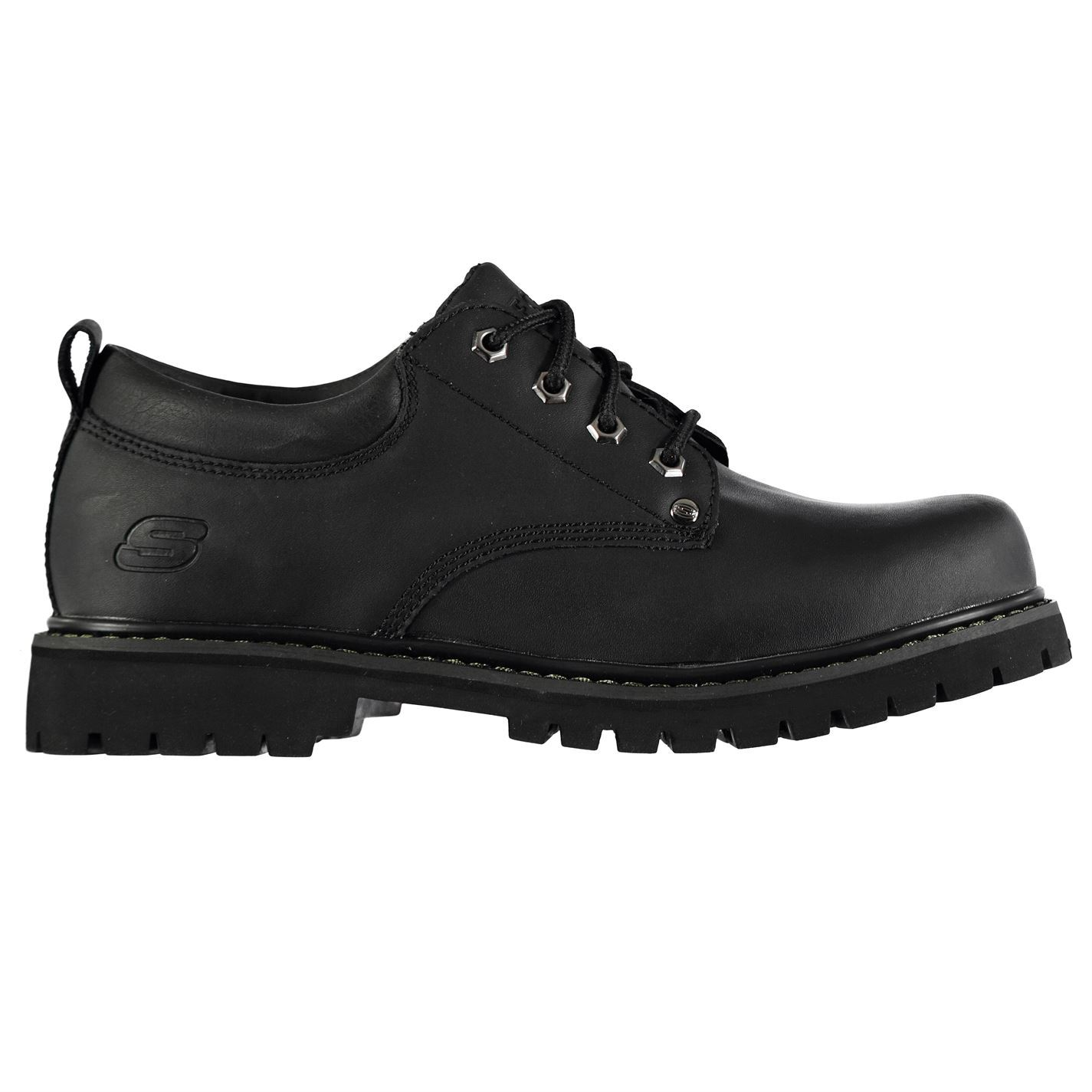 Skechers  Uomo Tom Cats Safety Leder Schuhes Casual Lace Up Leder Safety Upper Comfortable Fit a9d98b