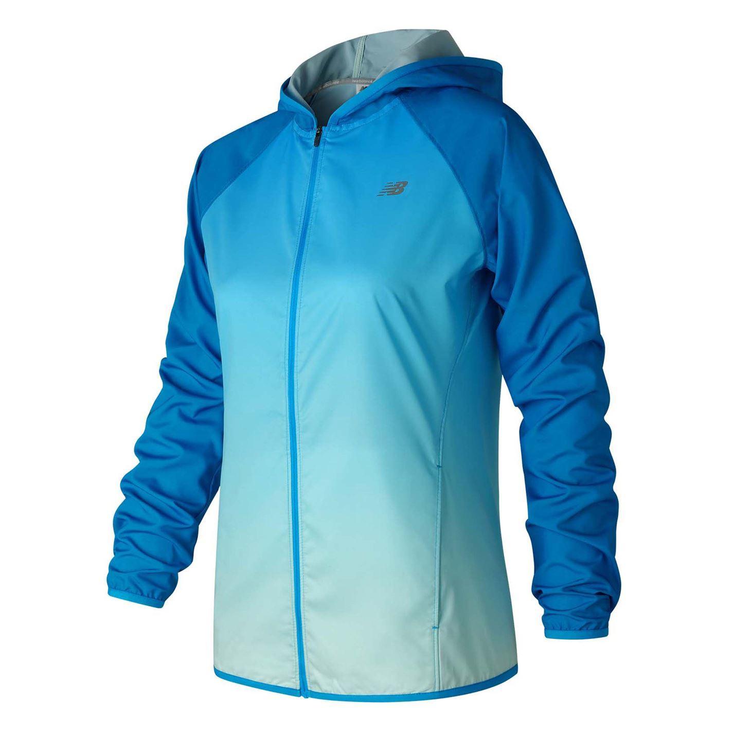 New Balance Hombre Jkt Ladies Rain Jacket Coat Top