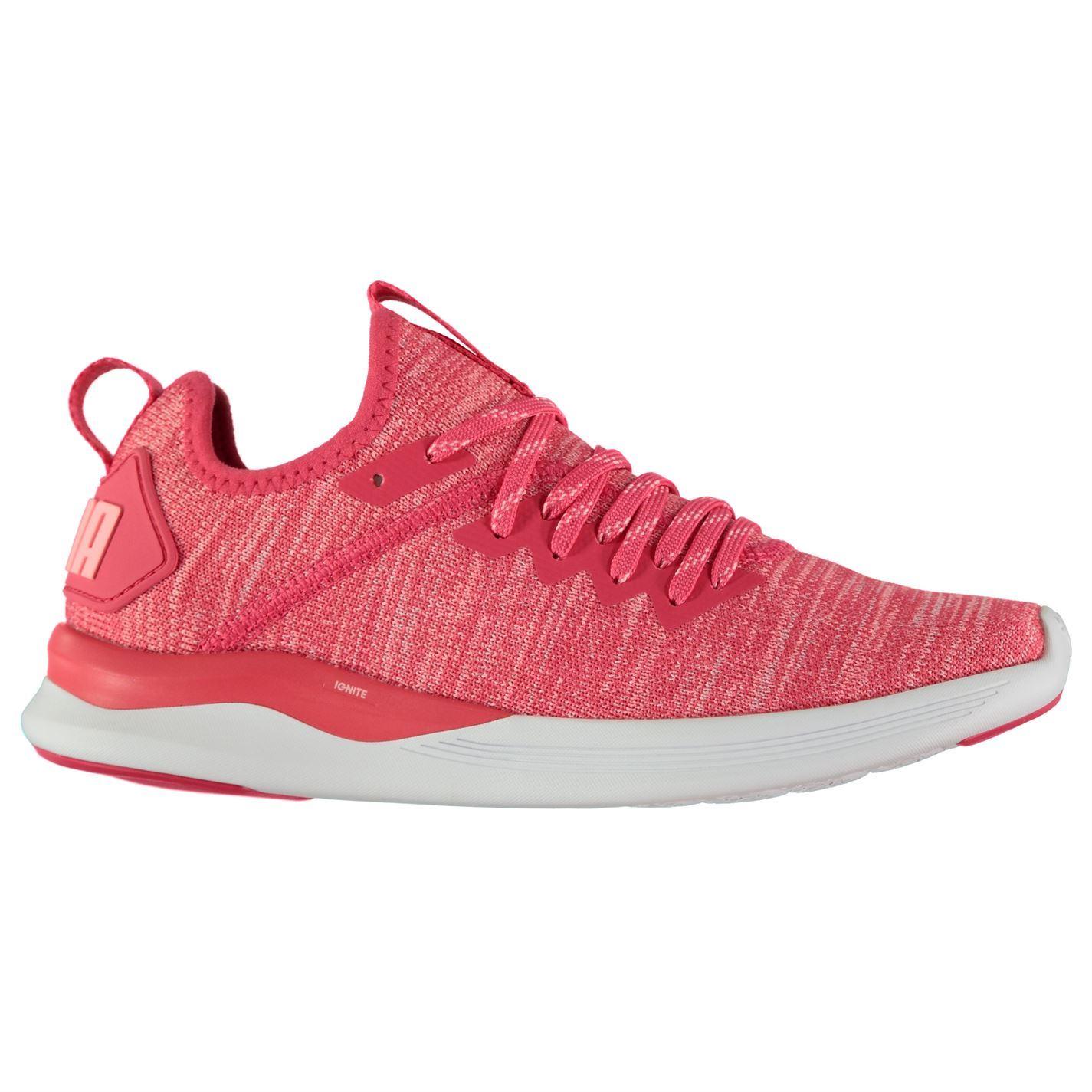 Puma Damenschuhe Ignite Flash Trainers Runners Training Slip On Knit Pattern Training Runners 912cc7