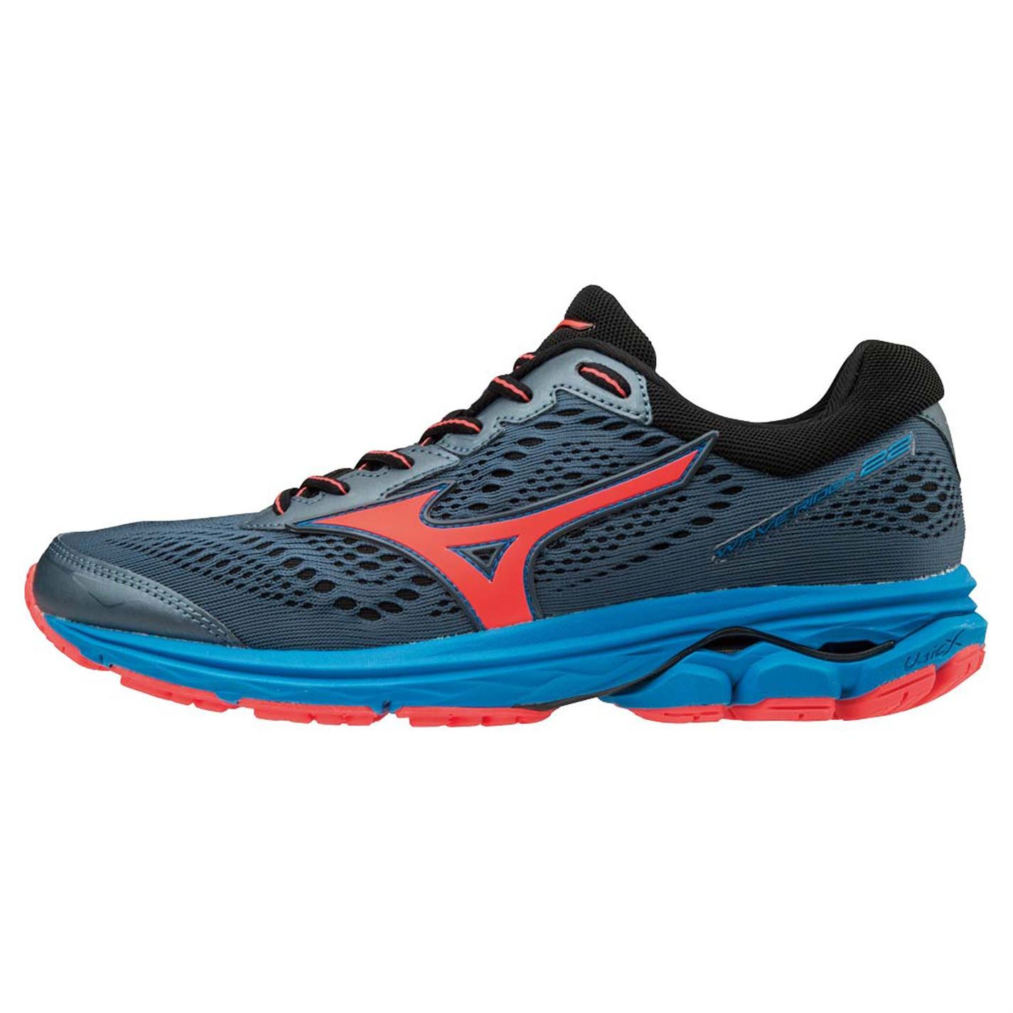 Mizuno Wave Schuhes Rider 22 Running Schuhes Wave Road Damenschuhe bad766