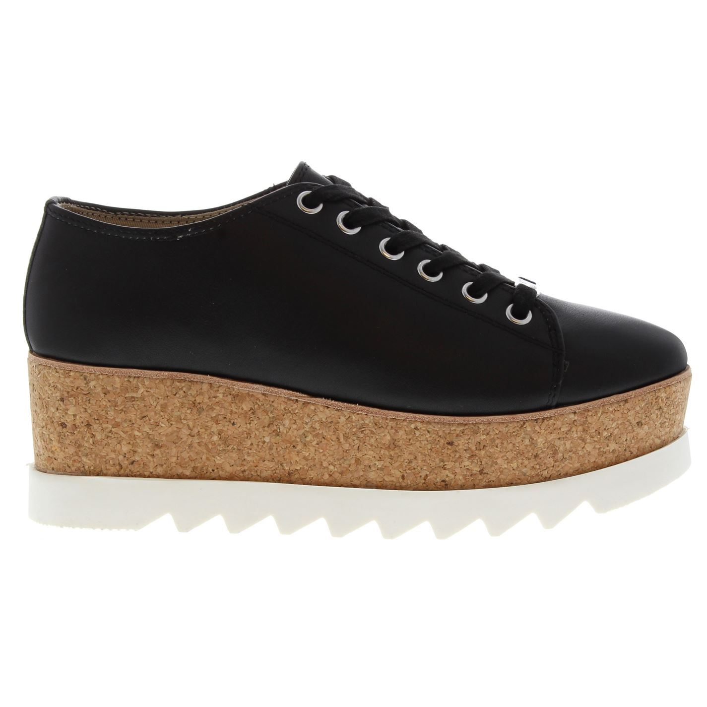 Steve-Madden-Womens-Korrie-Trainers-Wedges-Lace-Up-