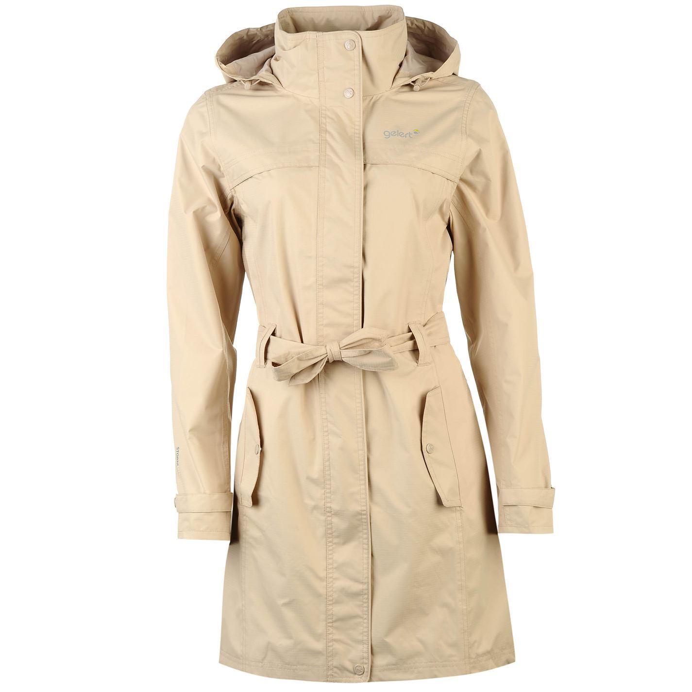 84d1dbb52b26 Gelert Womens Fairlight Jacket Top Coat Waterproof Hooded Full Zip ...