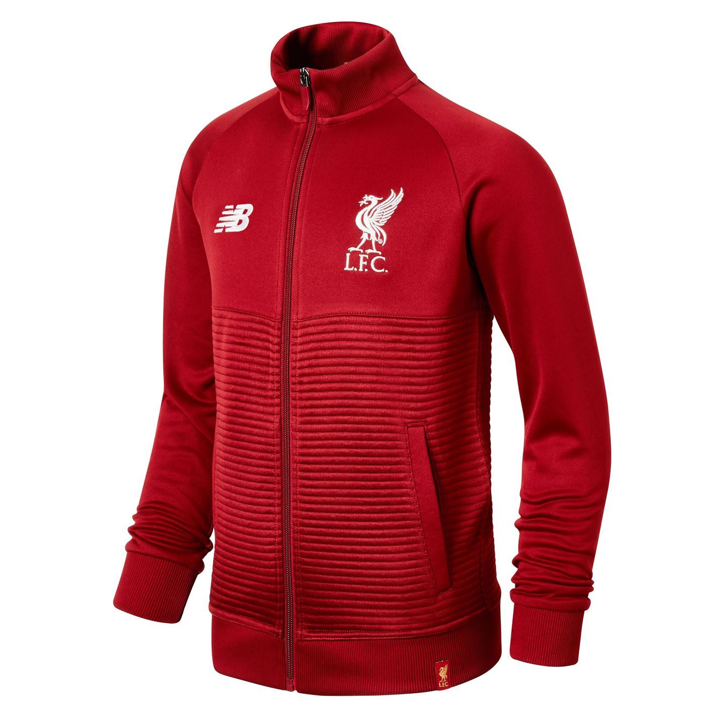 71dd962160716 Details about New Balance Kids Liverpool Walk Out Jacket 2018 2019 Junior  Tracksuit Top Coat