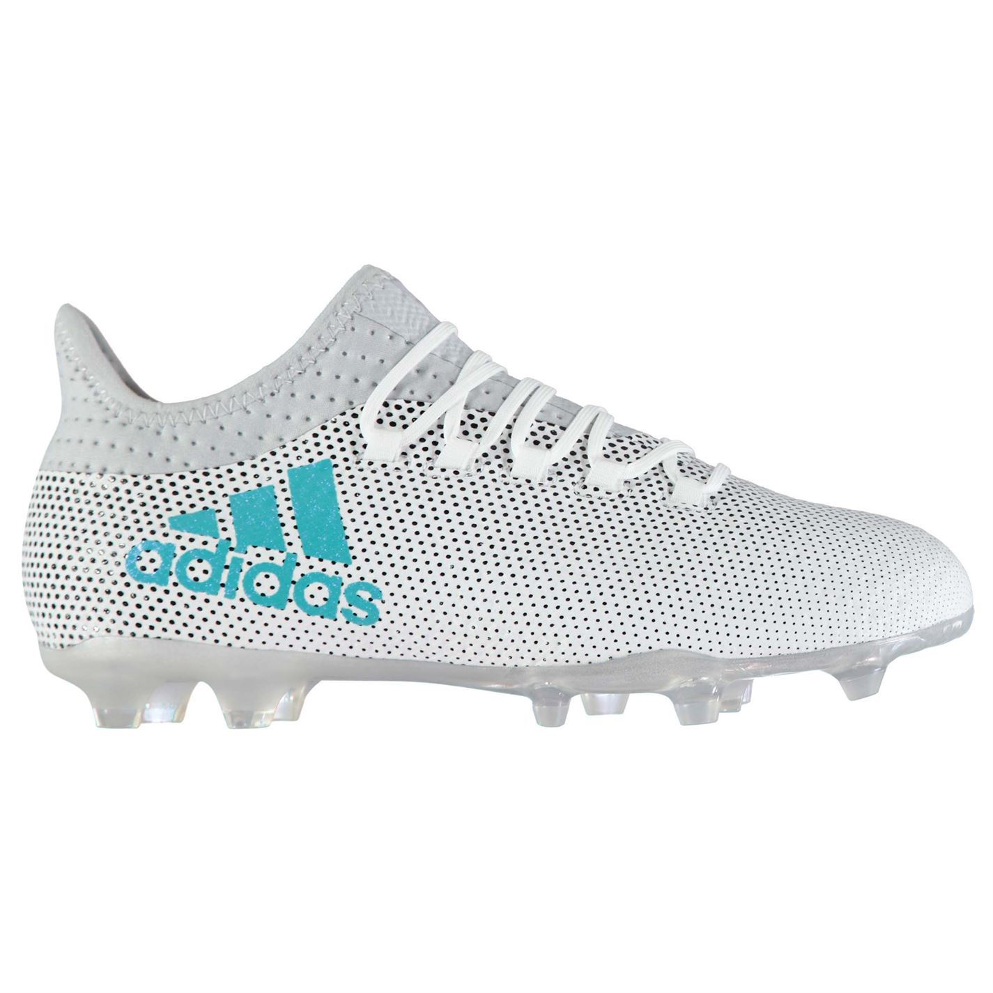 0bed2ea50763 adidas Mens X 17.2 FG Football Boots Shoes Studs Lace Up Ventilation Holes