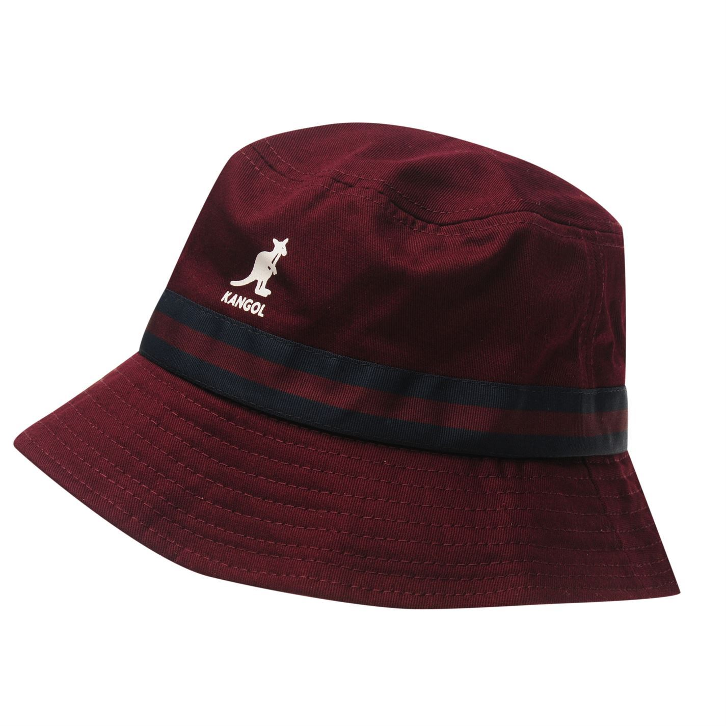 Kangol Mens Stripe Bucket Hat Cotton | eBay