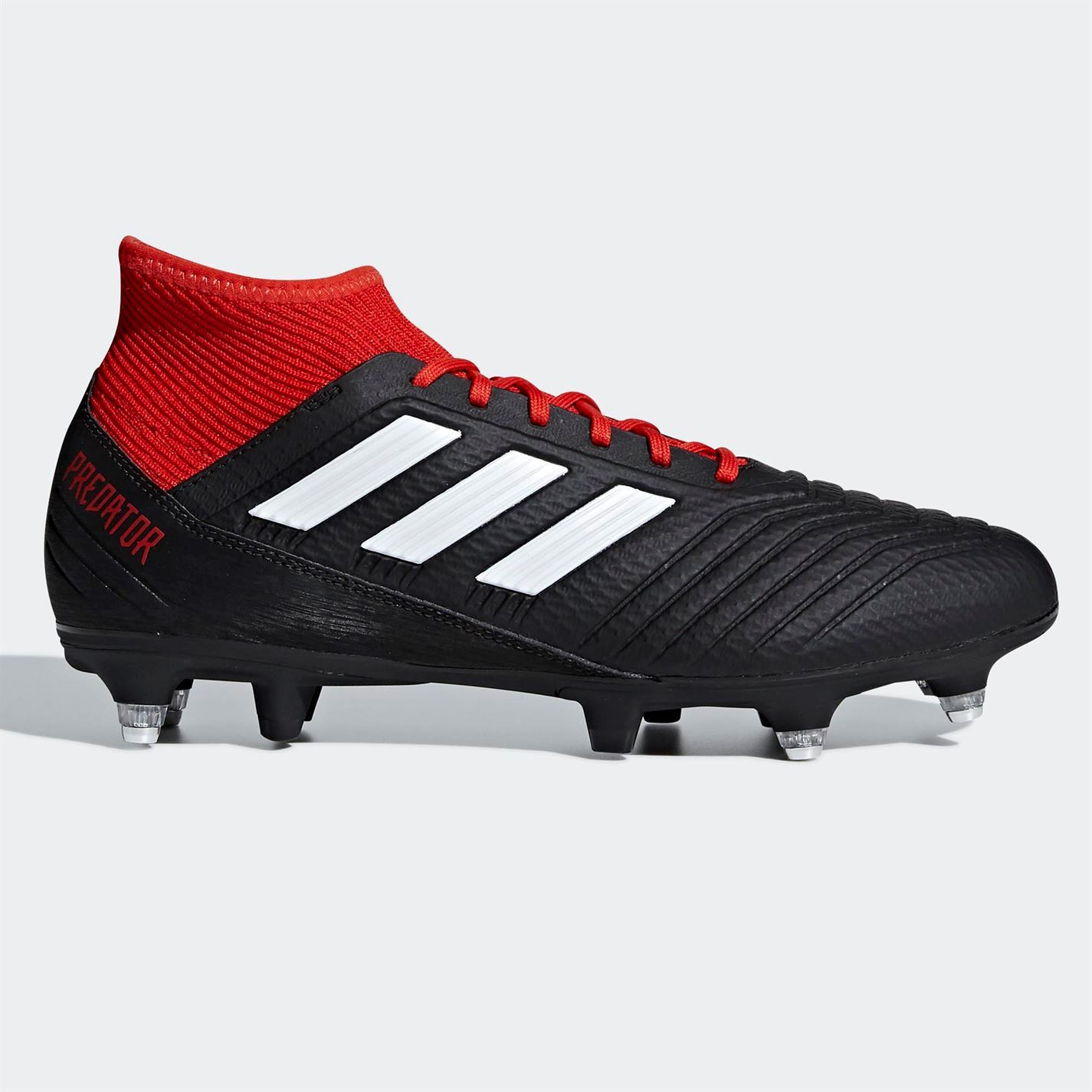 ab1b8a896a9 ... inexpensive adidas mens predator 18.3 sg football boots soft ground  lace up studs stretch aa977 8c53a
