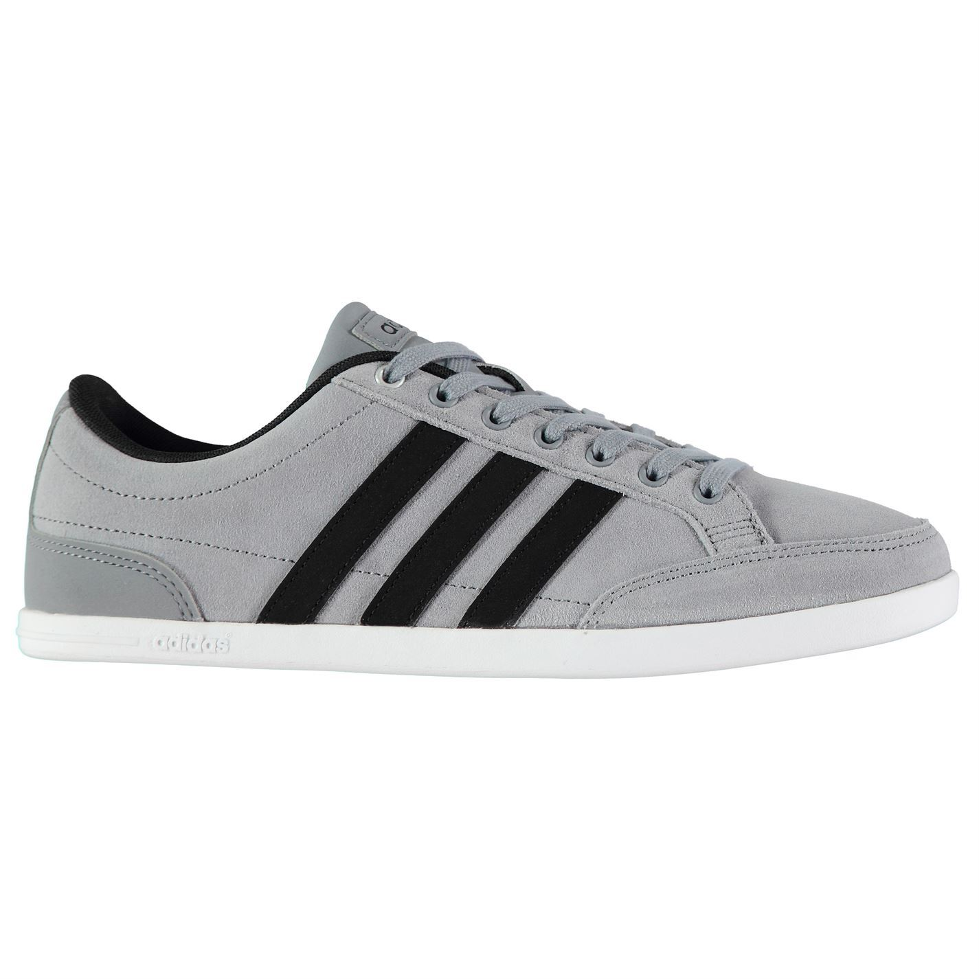 adidas-Mens-Gents-Caflaire-Suede-Trainers-Shoes-Footwear-Laces-Ankle-Collar