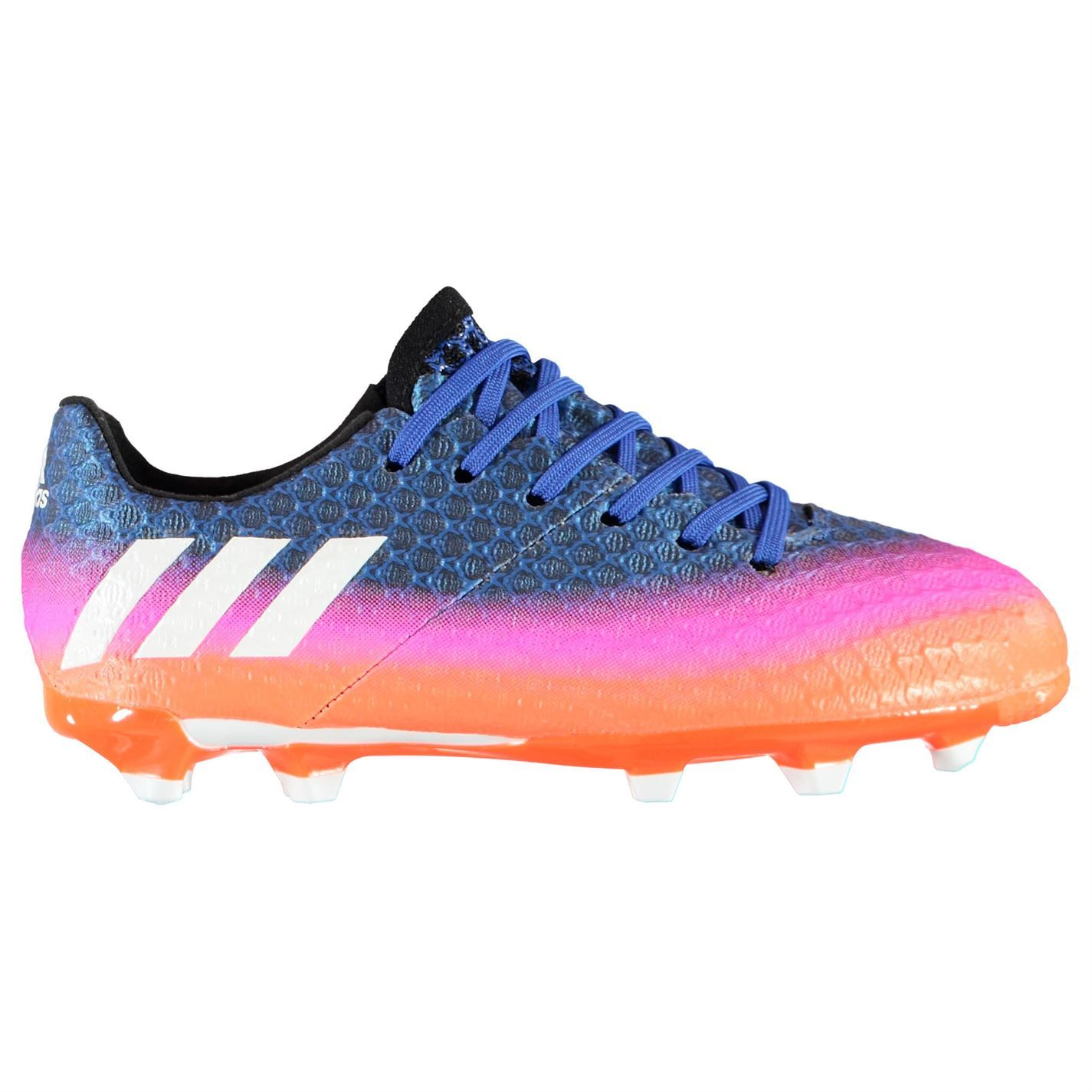 ef41c2bf7f5 adidas Kids Messi 16.1 FG Football Boots Children Firm Ground Lace ...