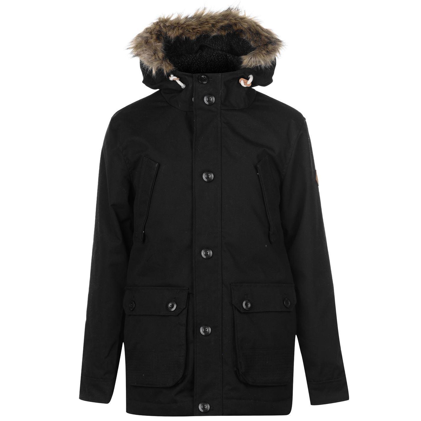 SoulCal-Mens-Parka-Jacket-Coat-Top-Long-Sleeve-