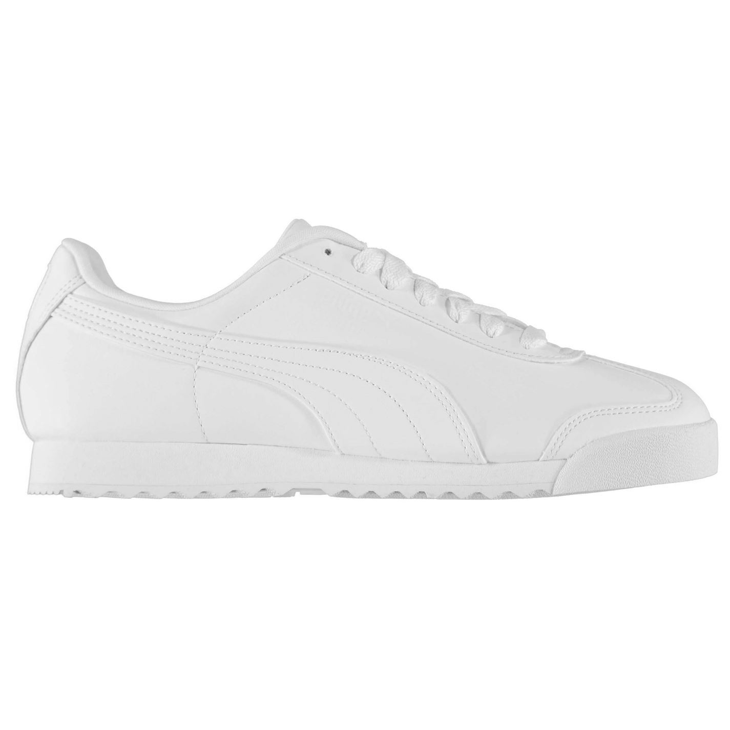 261acc6d41bc9c PUMA Roma Basic SNEAKERS Mens Gents Low Laces Fastened Padded Ankle ...
