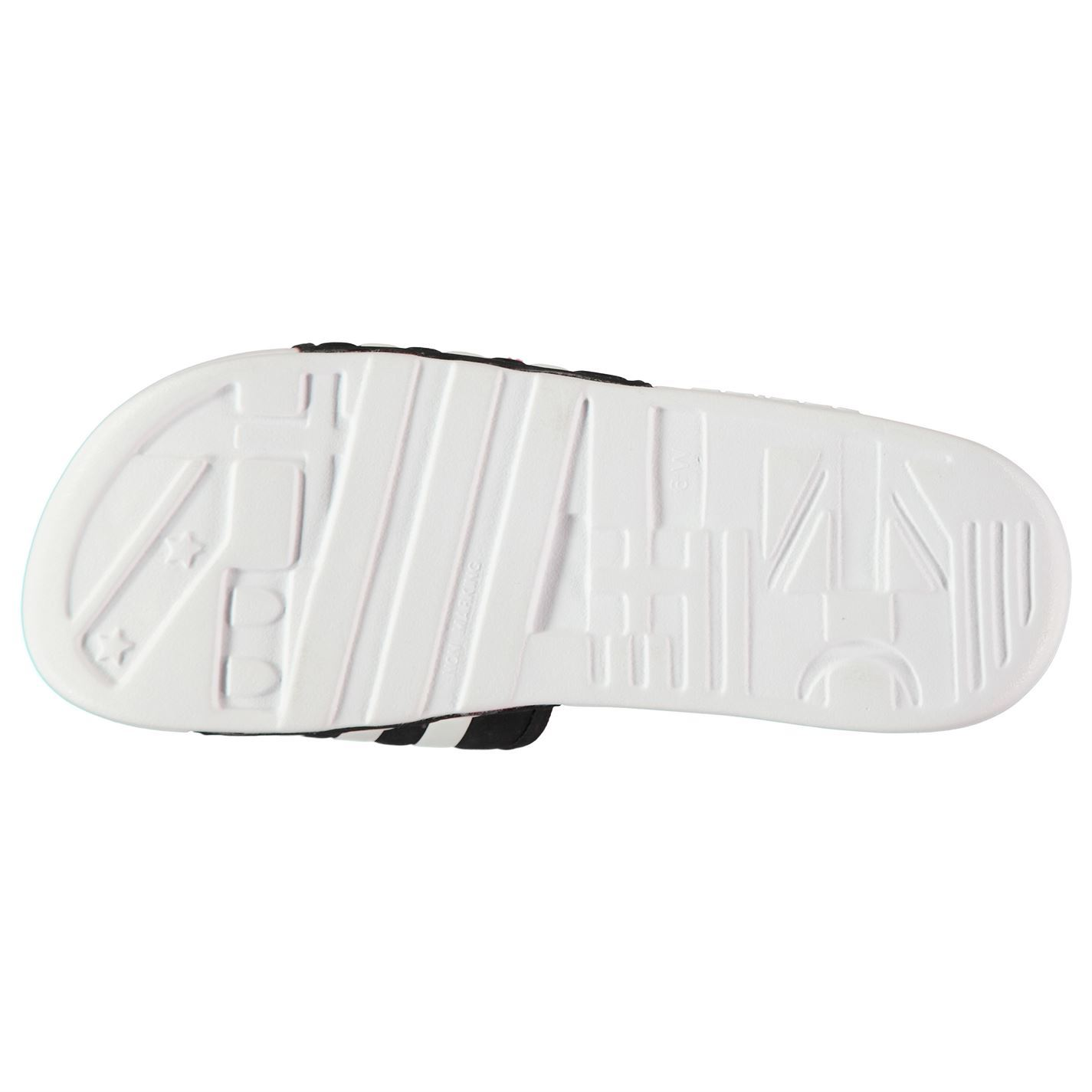 adidas Womens Adissage Sliders Pool Shoes Strap Hook and Loop Touch Close  Quick 620500e40