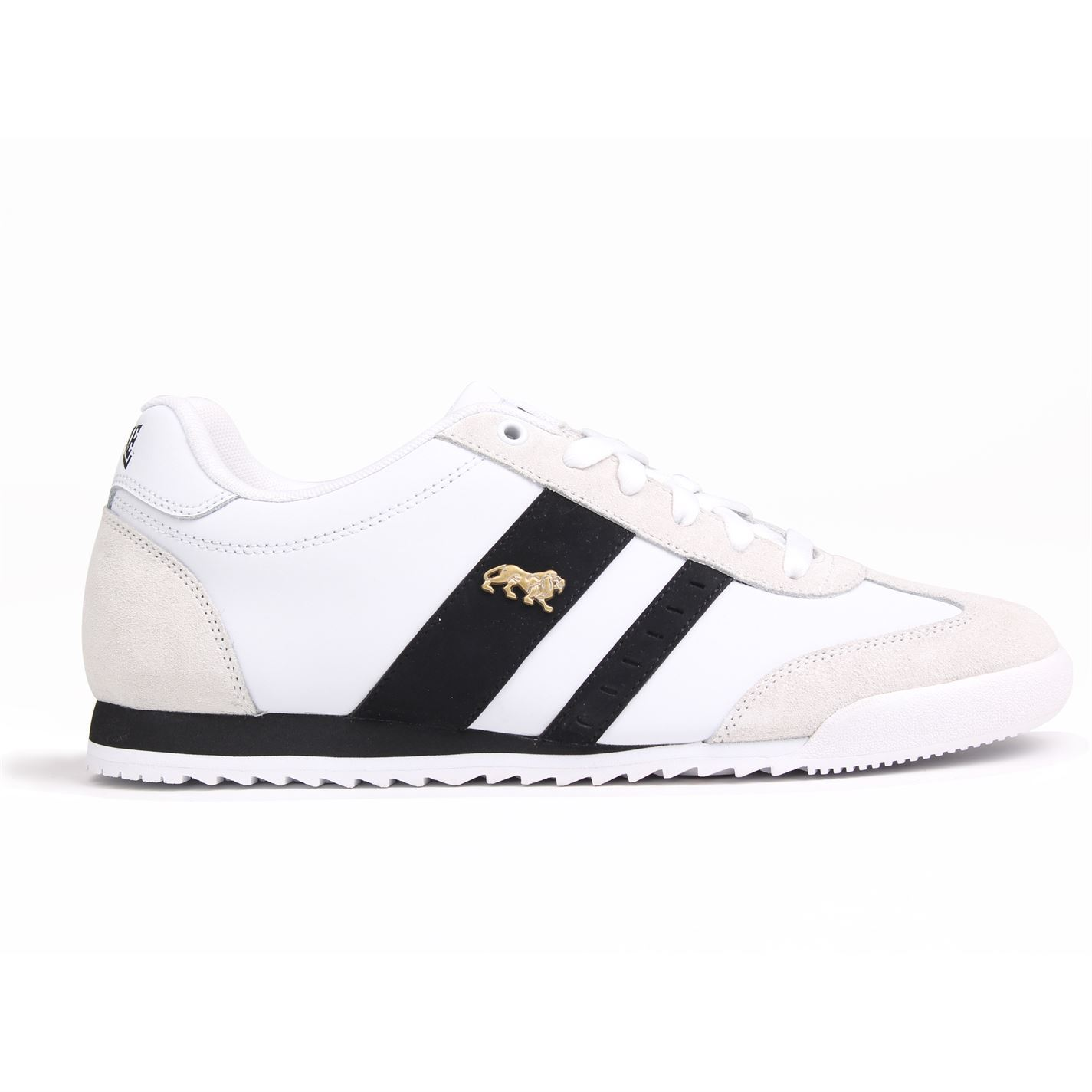 5ea41746f Details about Lonsdale Mens Lambo Trainers Sneakers Low Top Lace Up Padded  Sports Shoes
