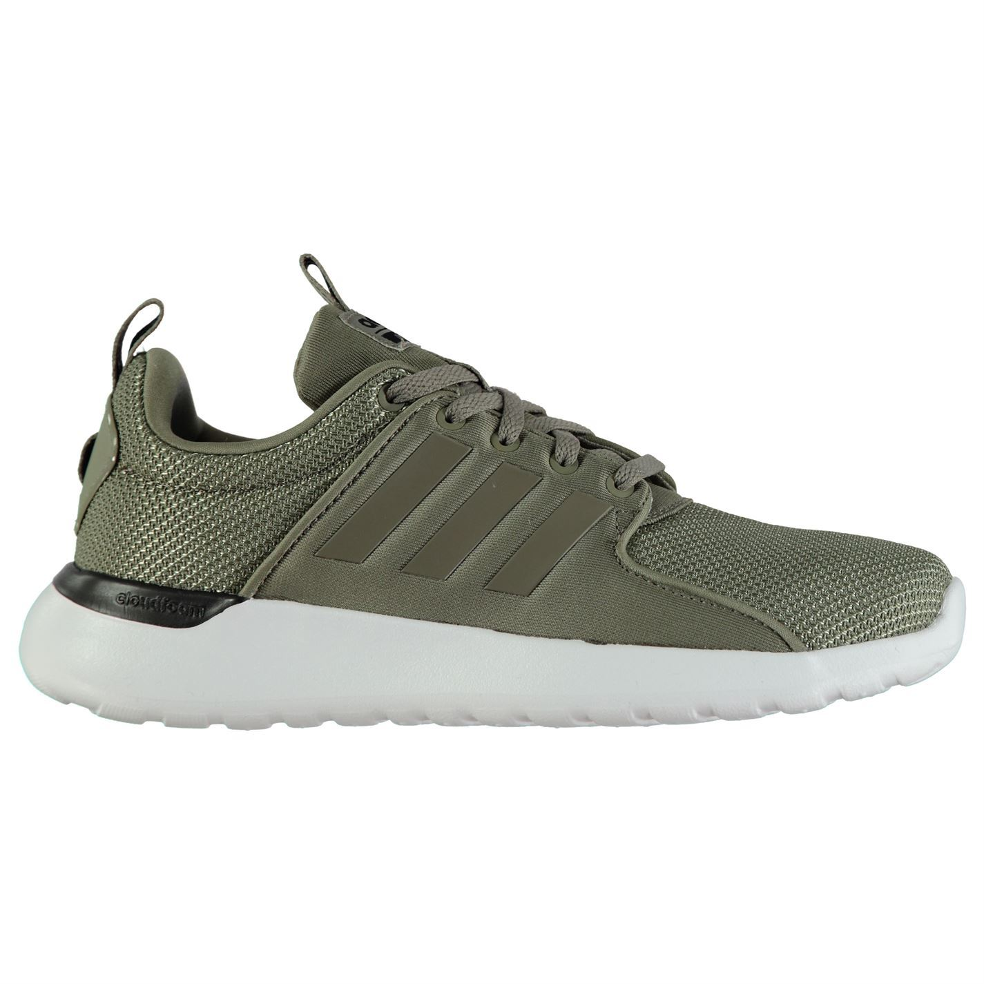 adidas Mens Cloudfoam Lite Up Racer Trainers Runners Lace Up Lite Pattern Stripe 7bfbbb