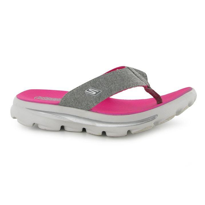 kids skechers flip flops