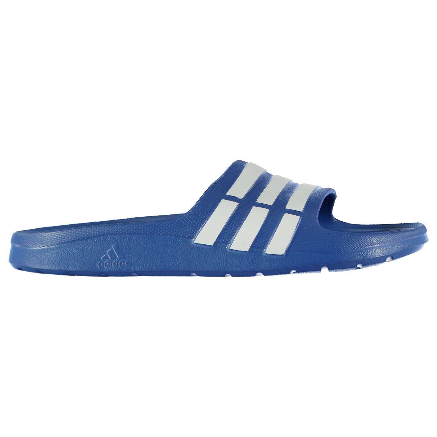 adidas duramo giovane cursori childrens piscina scarpe la striscia su ebay