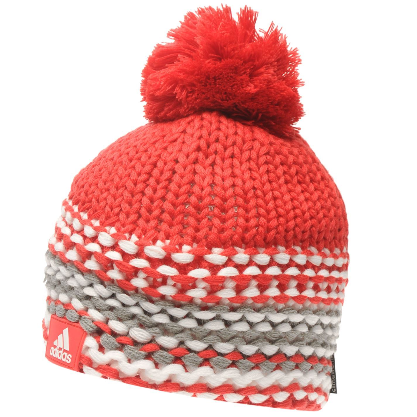 3886942e2ad Image is loading adidas-Kids-Chunky-Beanie-Hat-Juniors-Snow-Winter-
