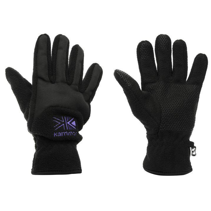 Karrimor-Womens-Fleece-Gloves-Elasticated-Outdoor-Snow-Winter-Warm-Accessories