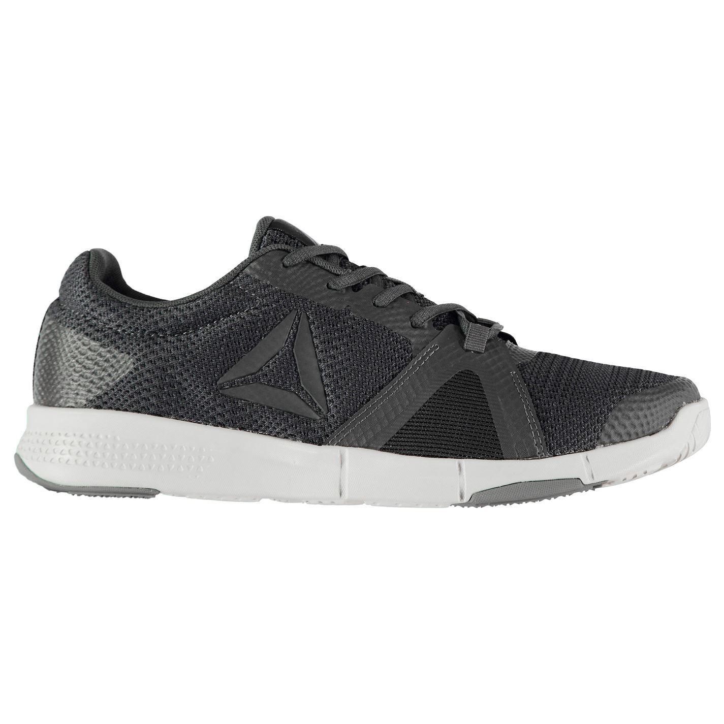Activity Reebok Hombres Flexile Gents Trn Negro Shoes gris Sport wZZXpTrq