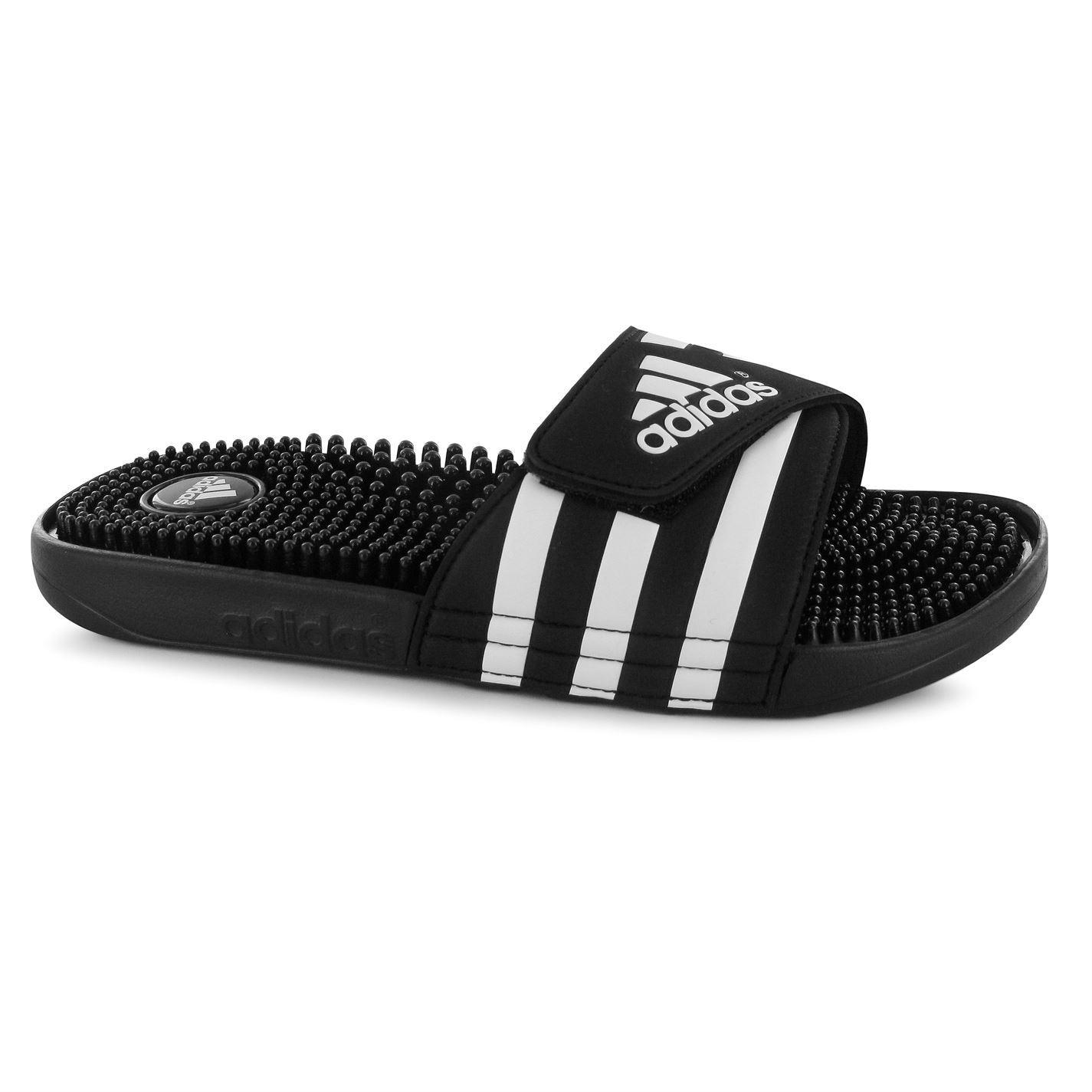 920e81388f0a38 ADIDAS MENS ADISSAGE Slides Sandals Massage Footbed Summer Shoes ...